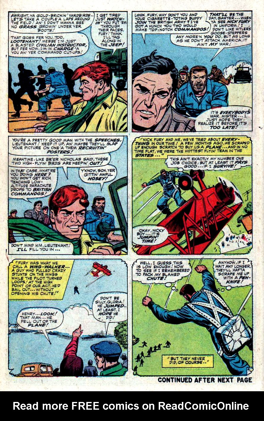 Read online Sgt. Fury comic -  Issue #34 - 6