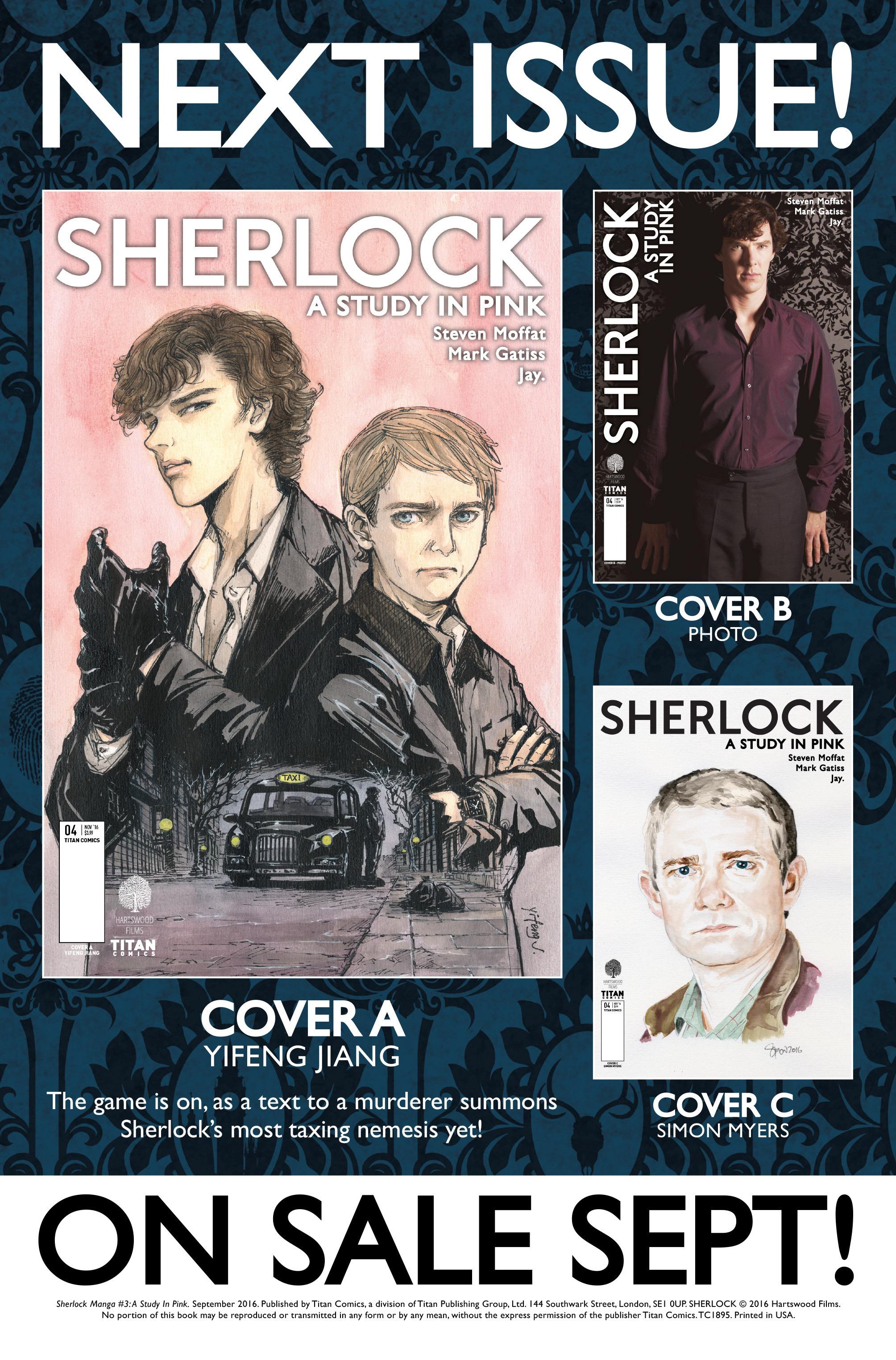 Read online Sherlock: A Study In Pink comic -  Issue #3 - 36