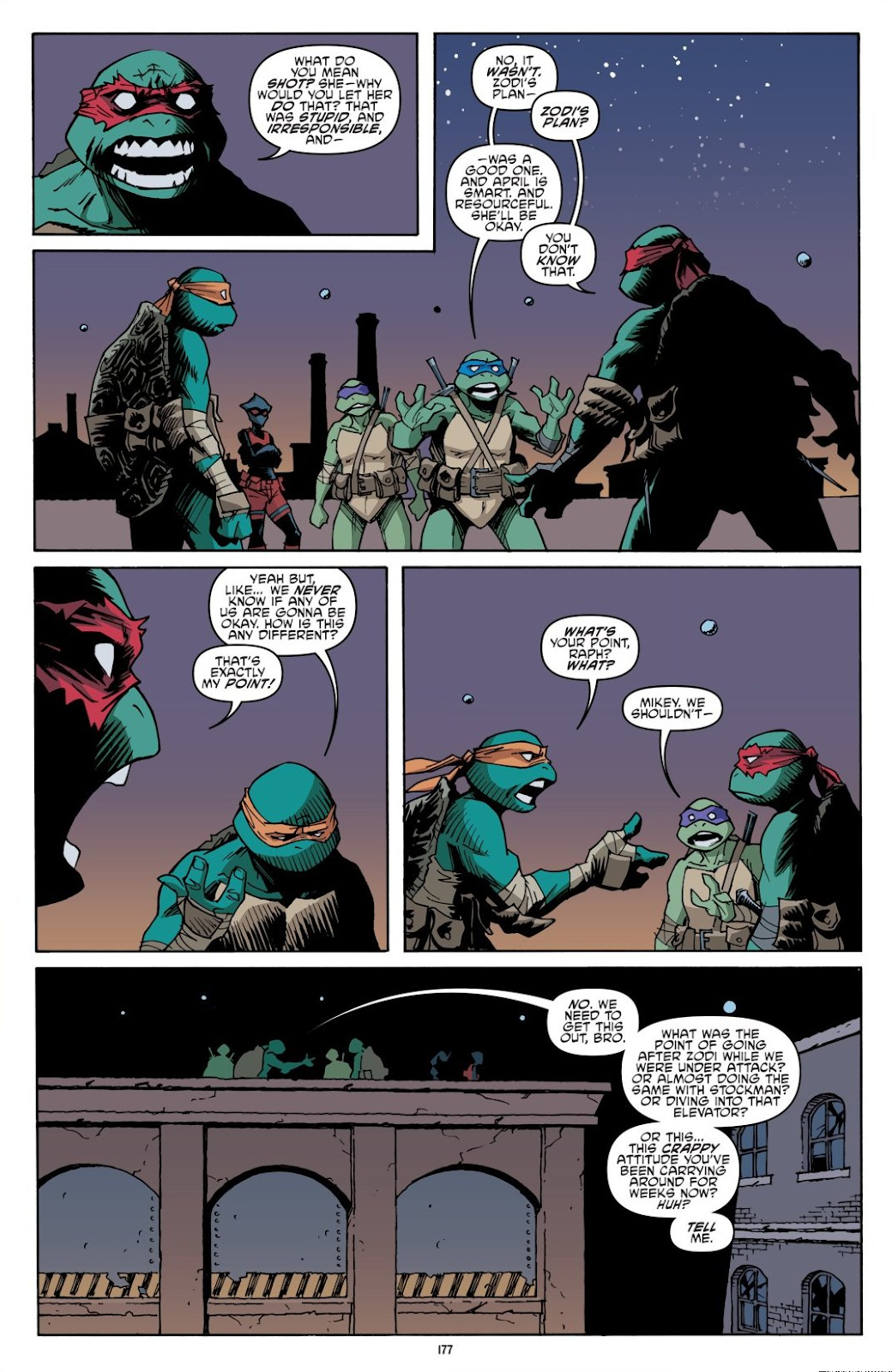 Read online Teenage Mutant Ninja Turtles: The IDW Collection comic -  Issue # TPB 8 (Part 2) - 76