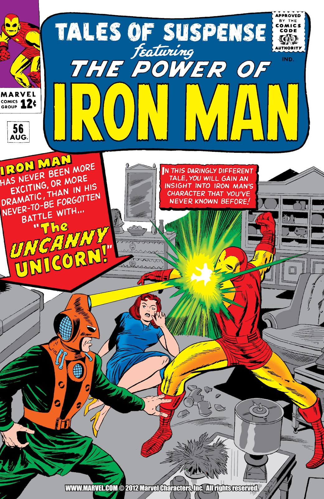 Read online Marvel Masterworks: The Invincible Iron Man comic -  Issue # TPB 2 (Part 1) - 80