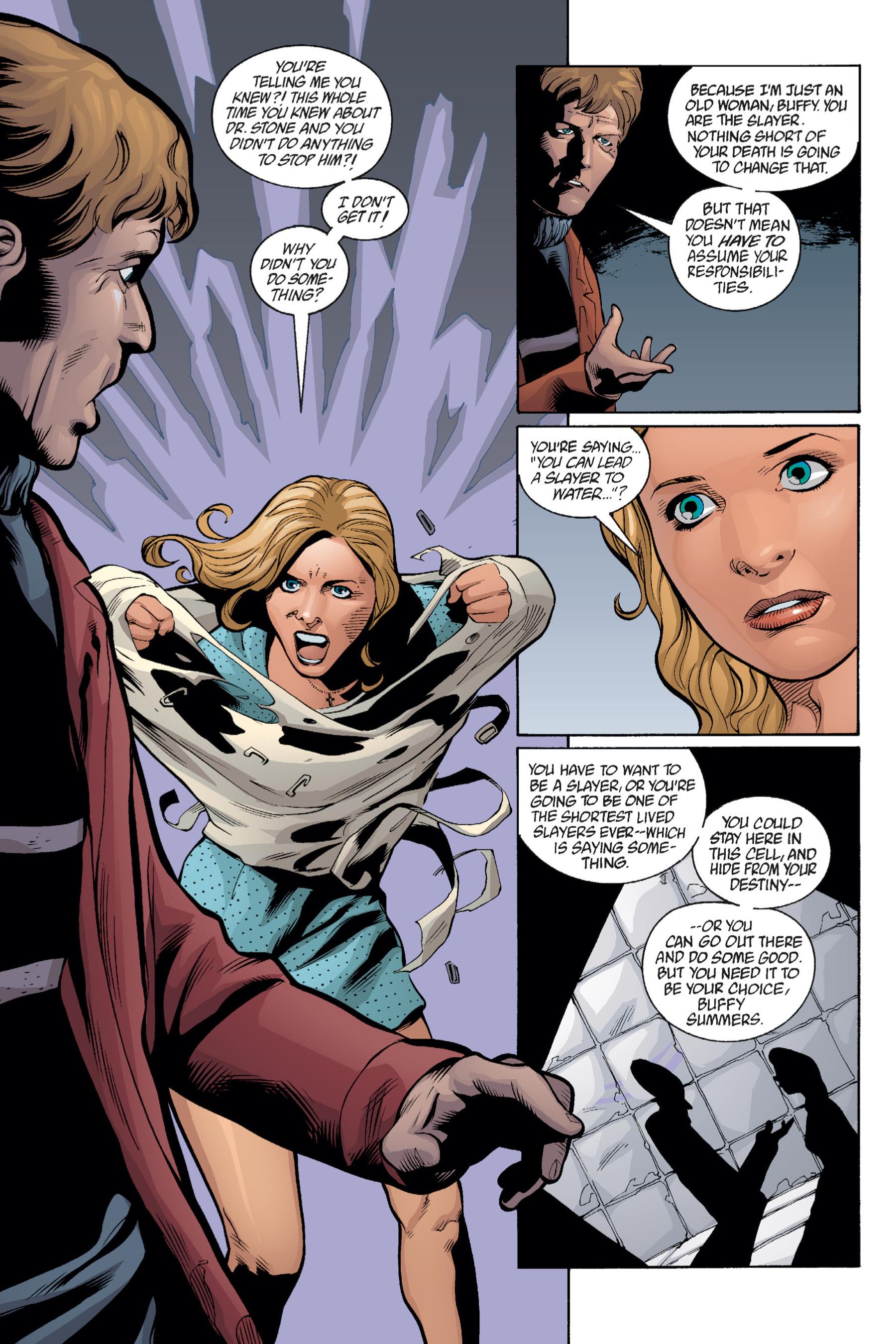 Read online Buffy the Vampire Slayer: Omnibus comic -  Issue # TPB 1 - 289