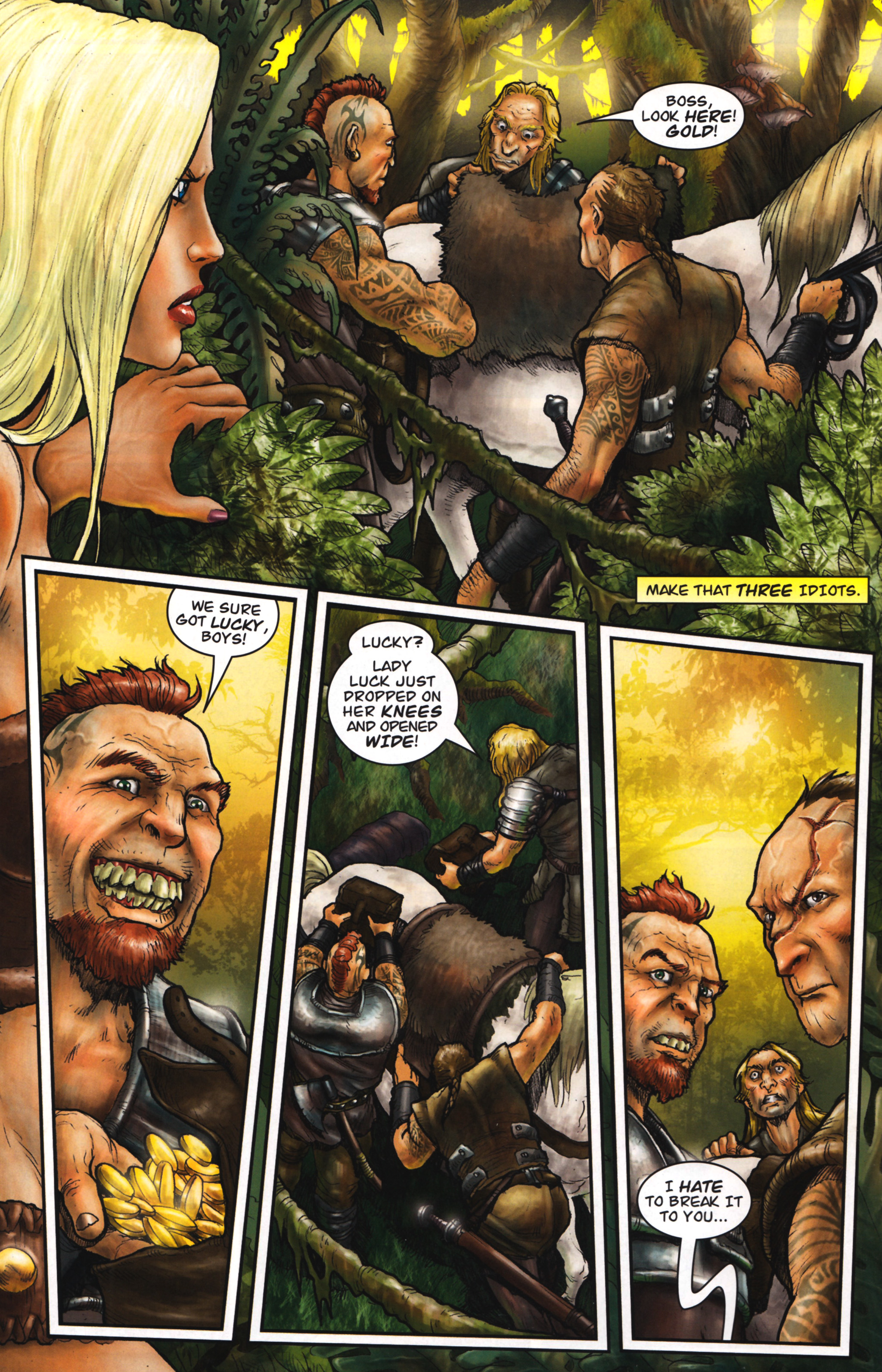 Read online Arhian: Head Huntress comic -  Issue #1 - 18