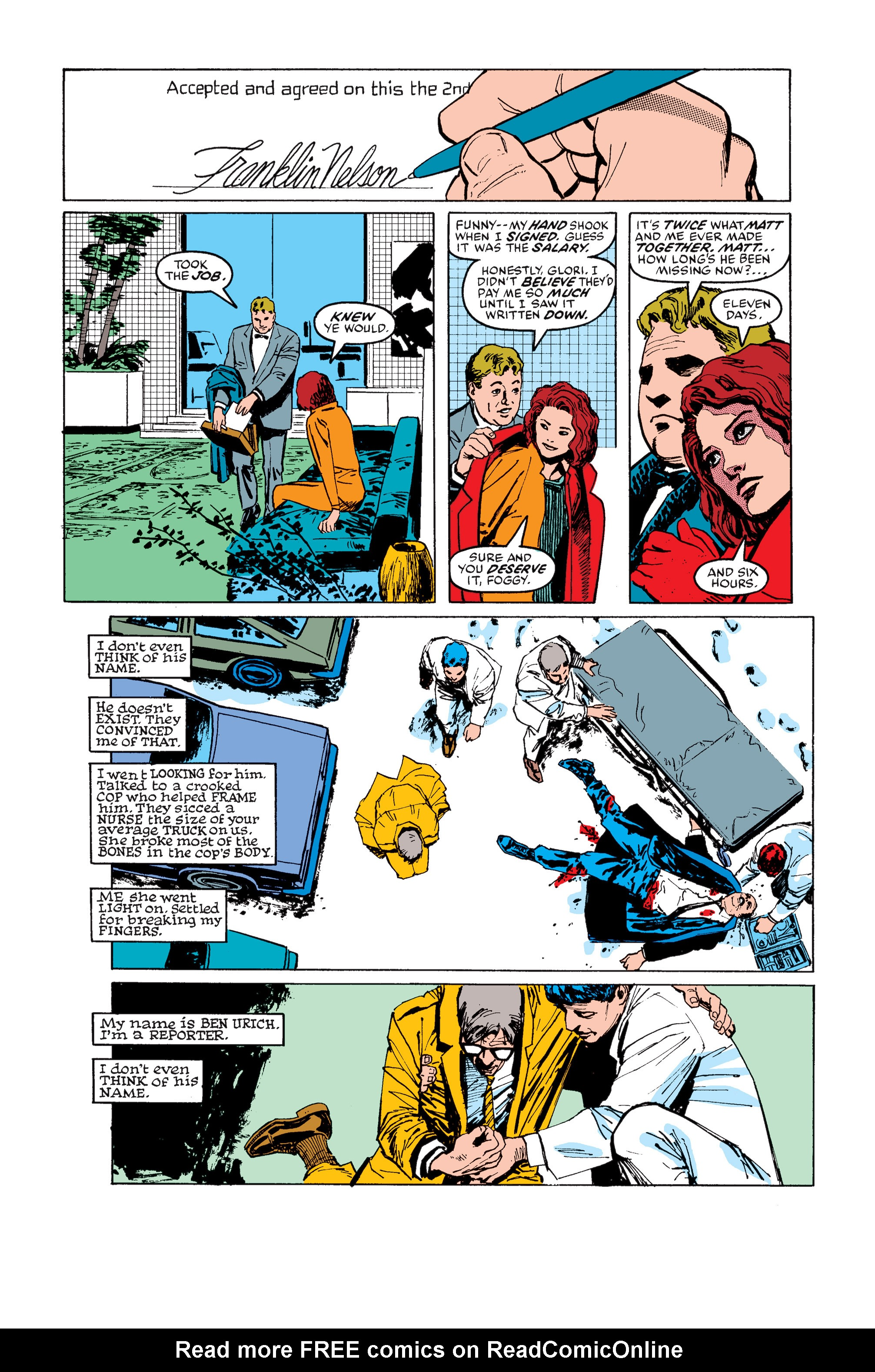 Read online Daredevil: Born Again comic -  Issue # Full - 103