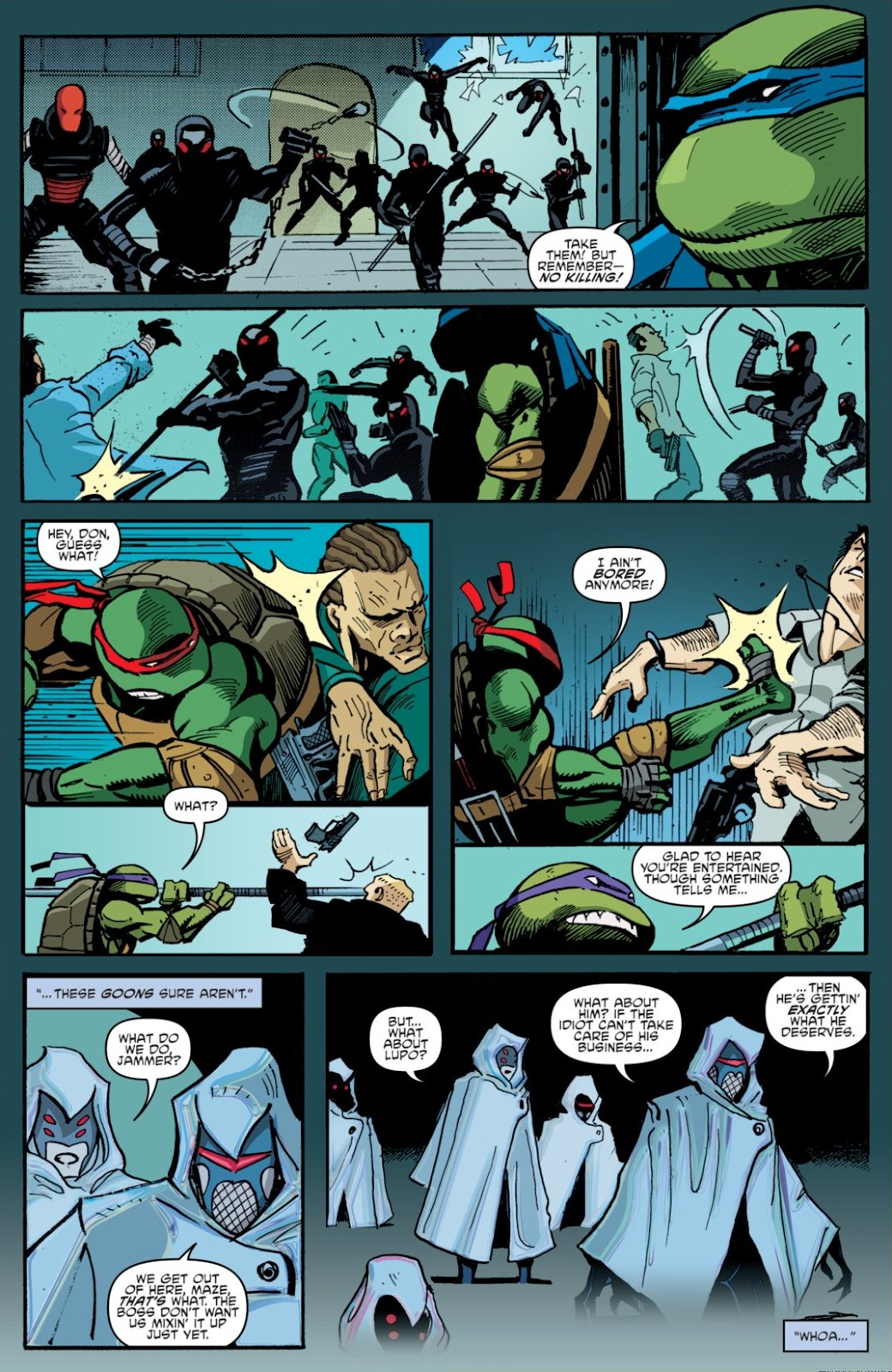 Read online Teenage Mutant Ninja Turtles: The IDW Collection comic -  Issue # TPB 7 (Part 1) - 11