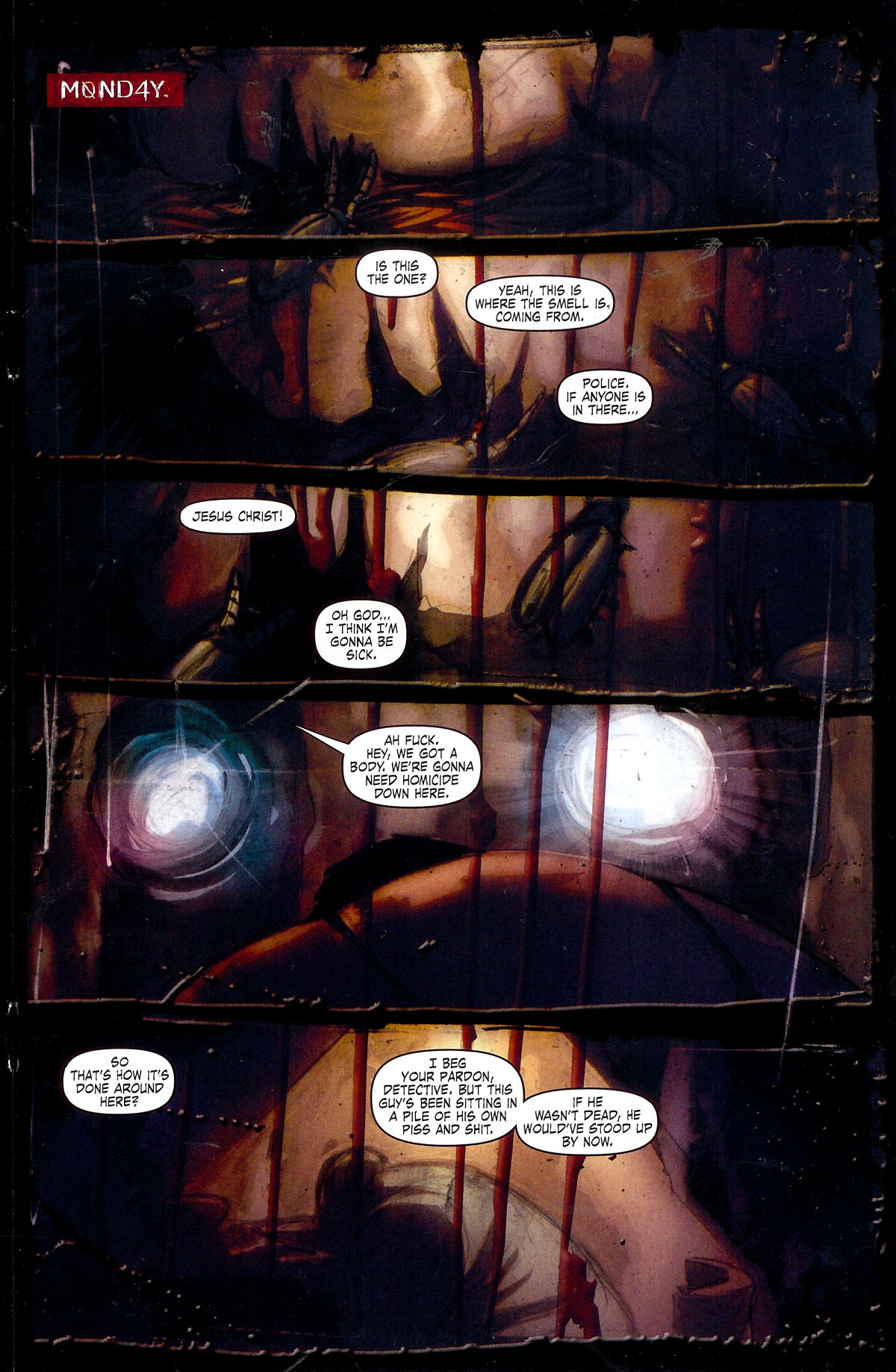 Read online Se7en comic -  Issue #1 - 27