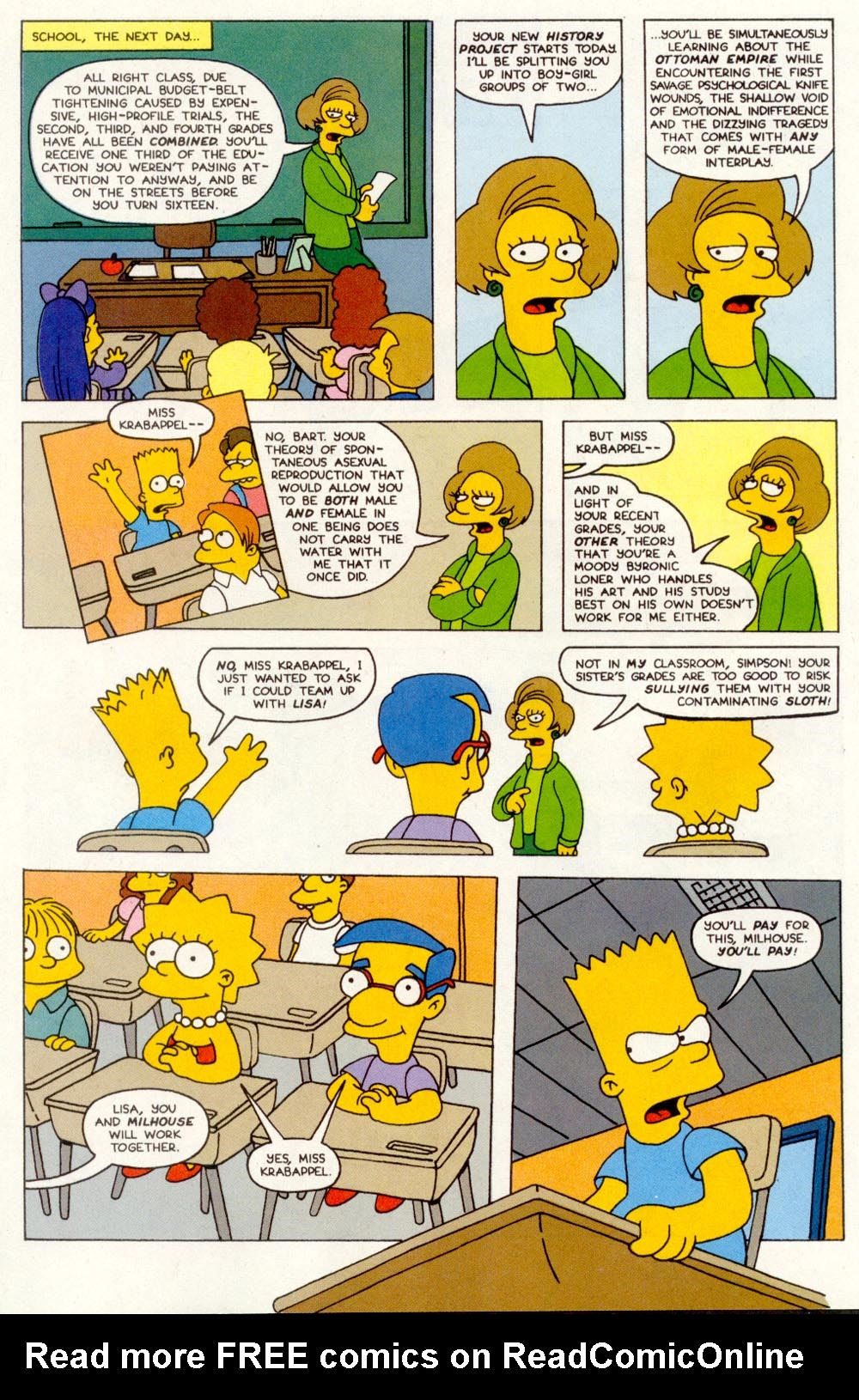 Read online Treehouse of Horror comic -  Issue #1 - 36