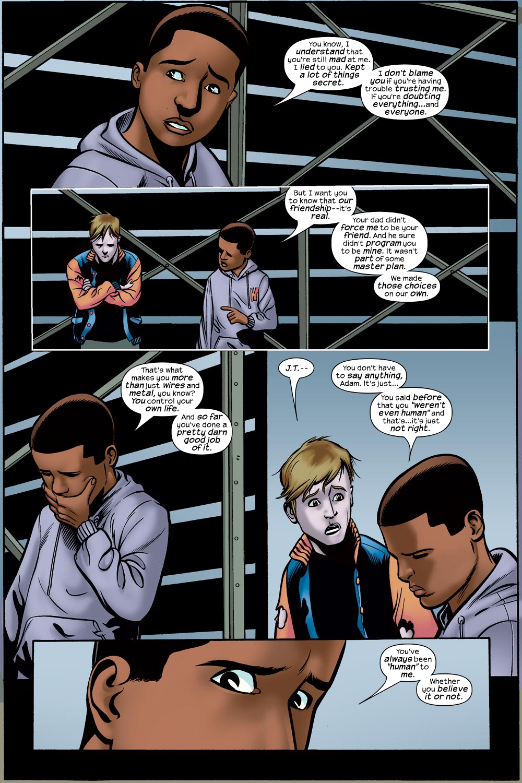 Read online Machine Teen comic -  Issue #4 - 18