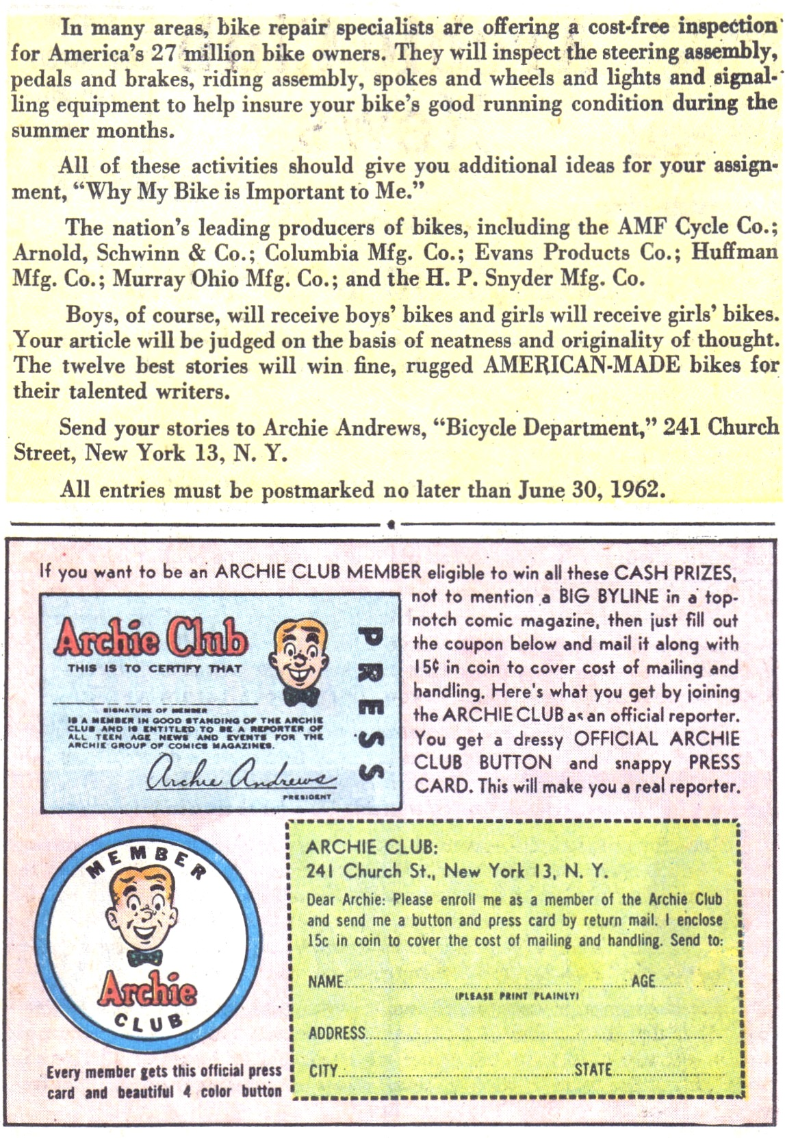 Read online Archie (1960) comic -  Issue #128 - 27