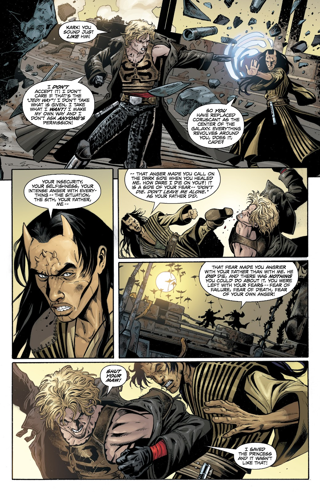 Read online Star Wars Legends: Legacy - Epic Collection comic -  Issue # TPB 1 (Part 4) - 6