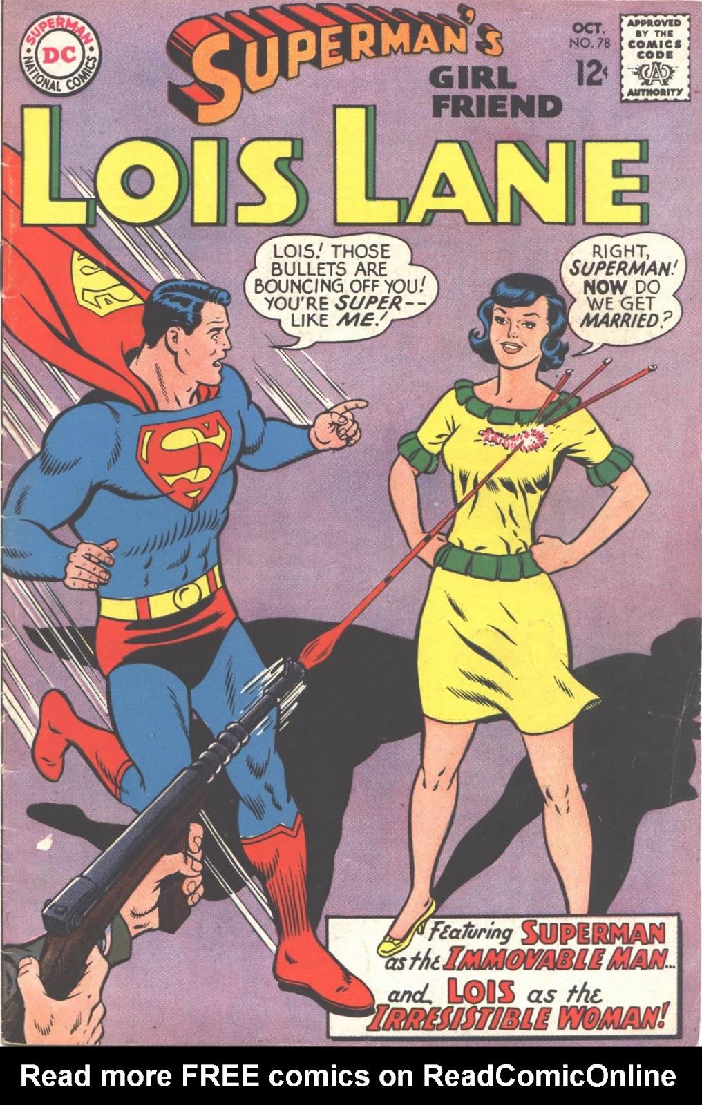 Supermans Girl Friend, Lois Lane 78 Page 1