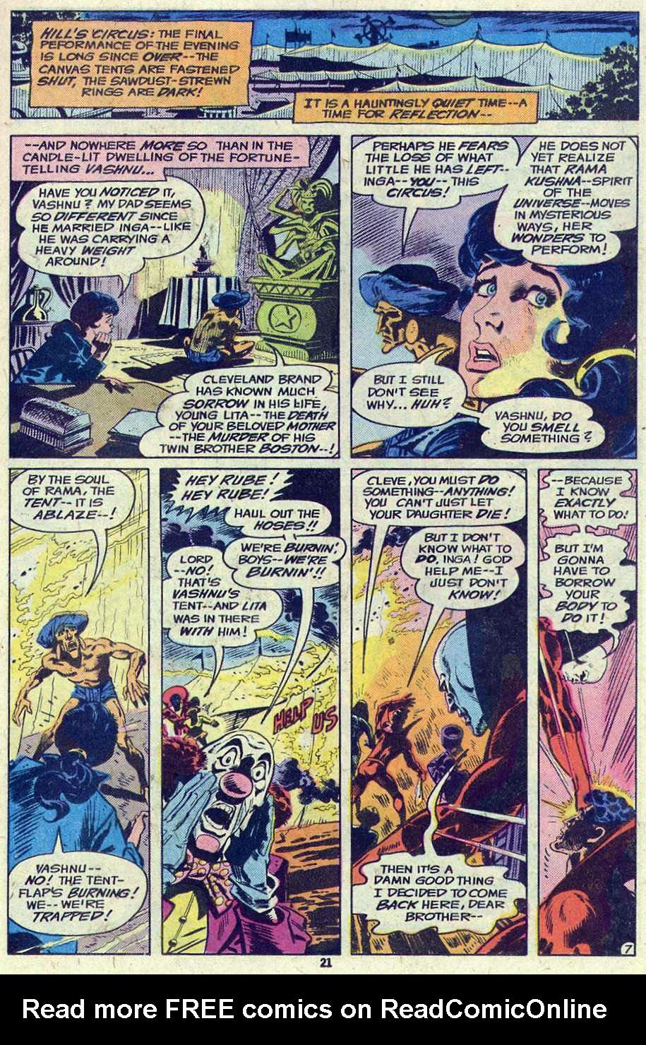 Read online Adventure Comics (1938) comic -  Issue #460 - 21