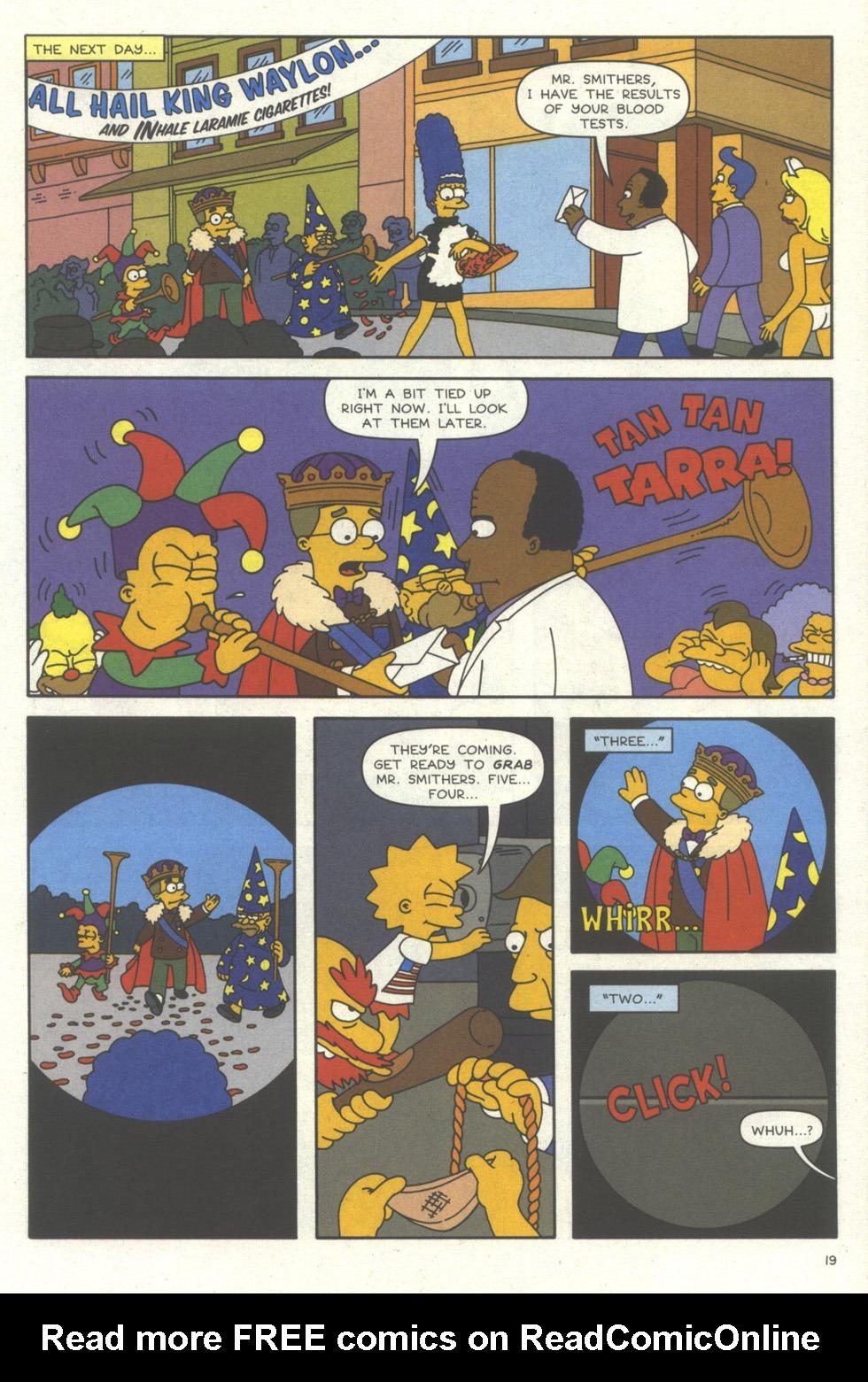 Read online Simpsons Comics comic -  Issue #56 - 20