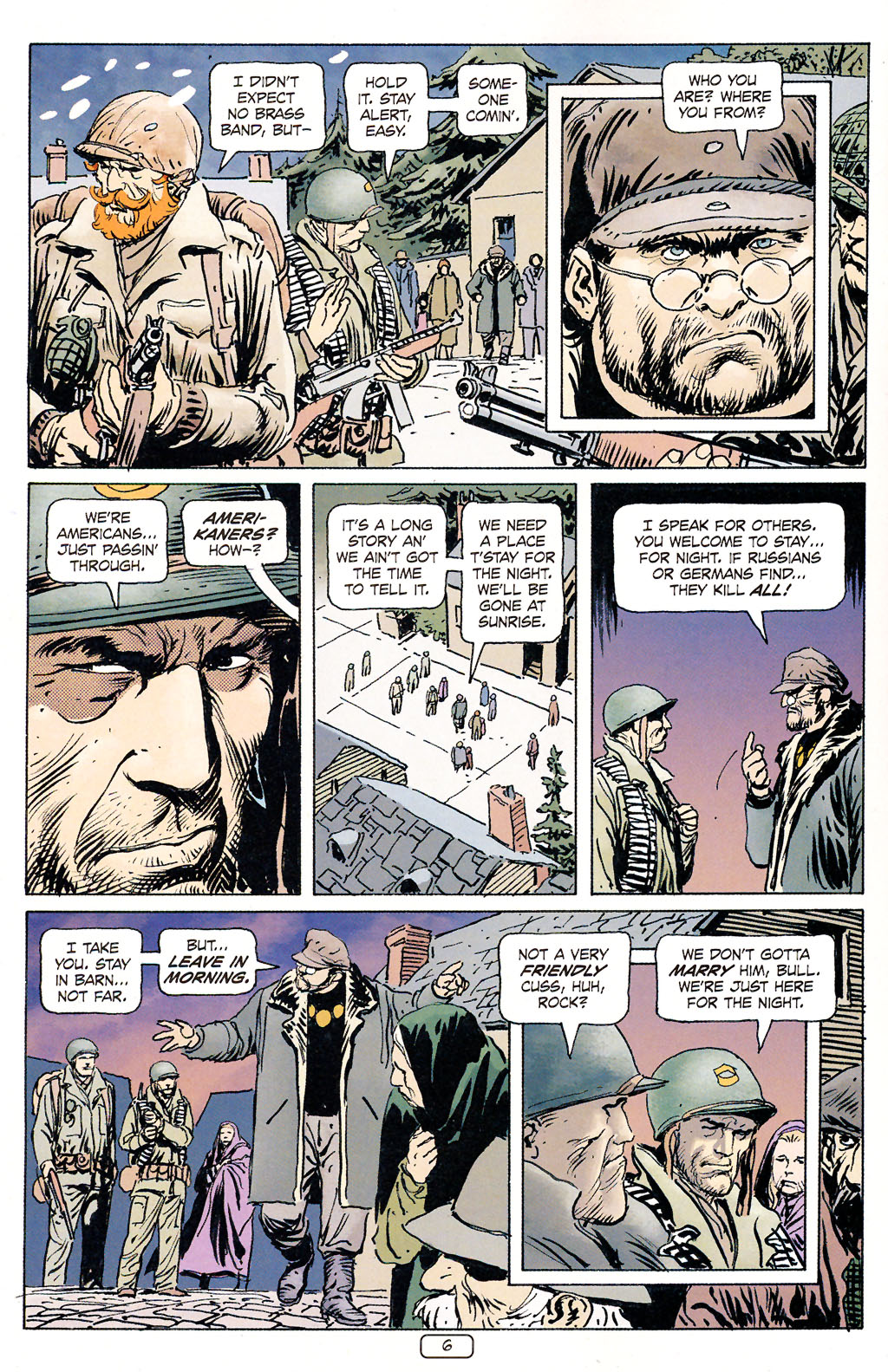 Read online Sgt. Rock: The Prophecy comic -  Issue #5 - 6