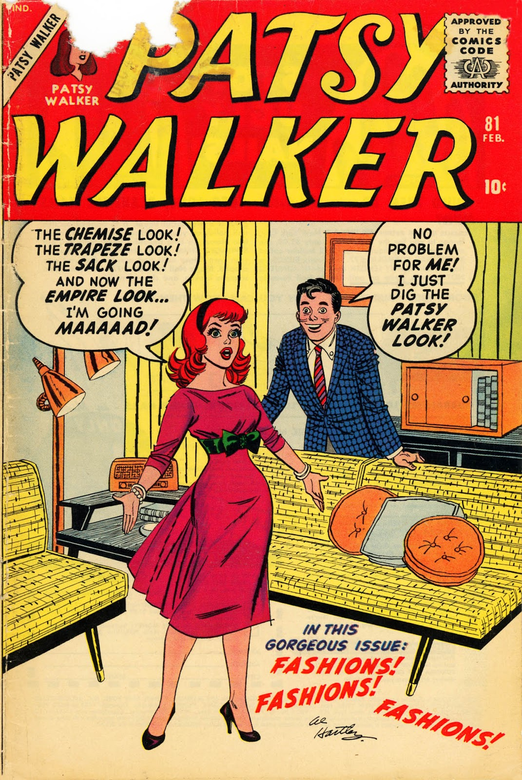 Patsy Walker 81 Page 1