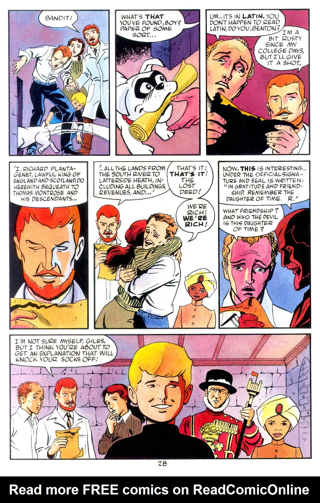 Jonny Quest (1986) issue 10 - Page 30