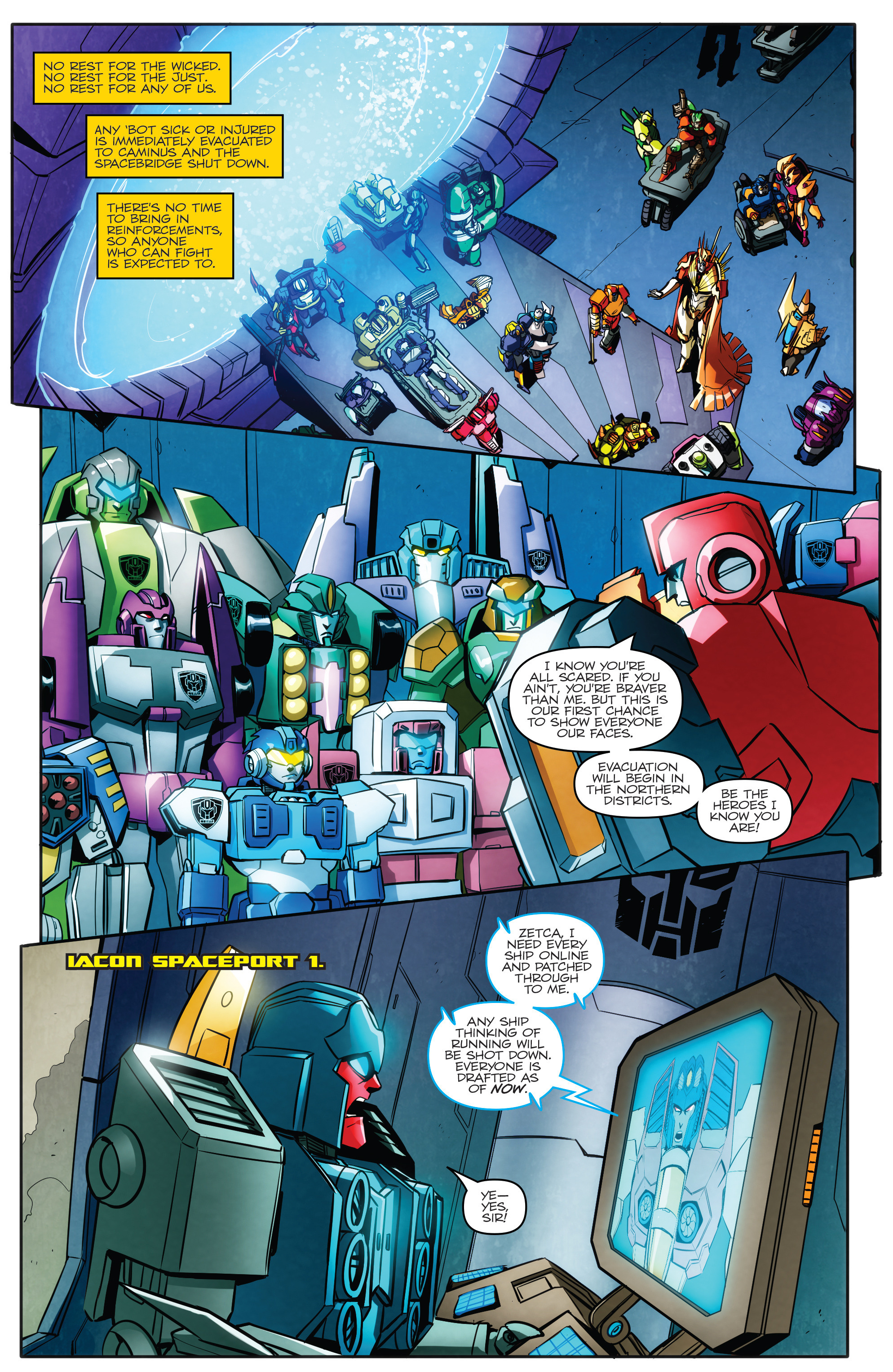 Read online Transformers: Till All Are One comic -  Issue #5 - 12