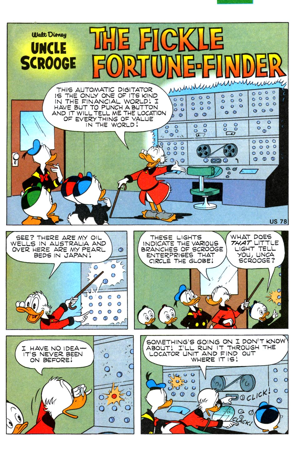Read online Uncle Scrooge (1953) comic -  Issue #288 - 19
