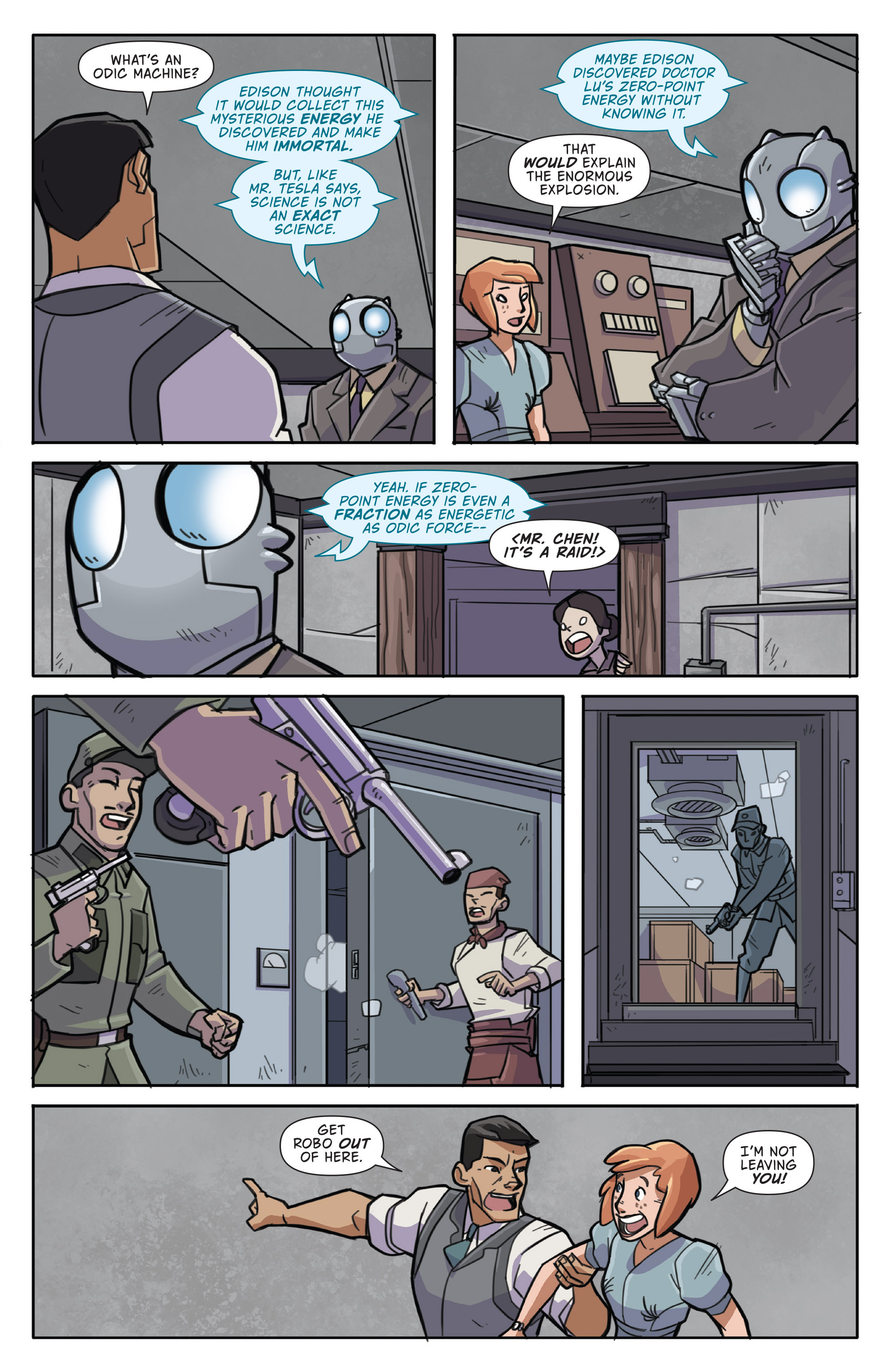 Read online Atomic Robo and the Temple of Od comic -  Issue #1 - 19