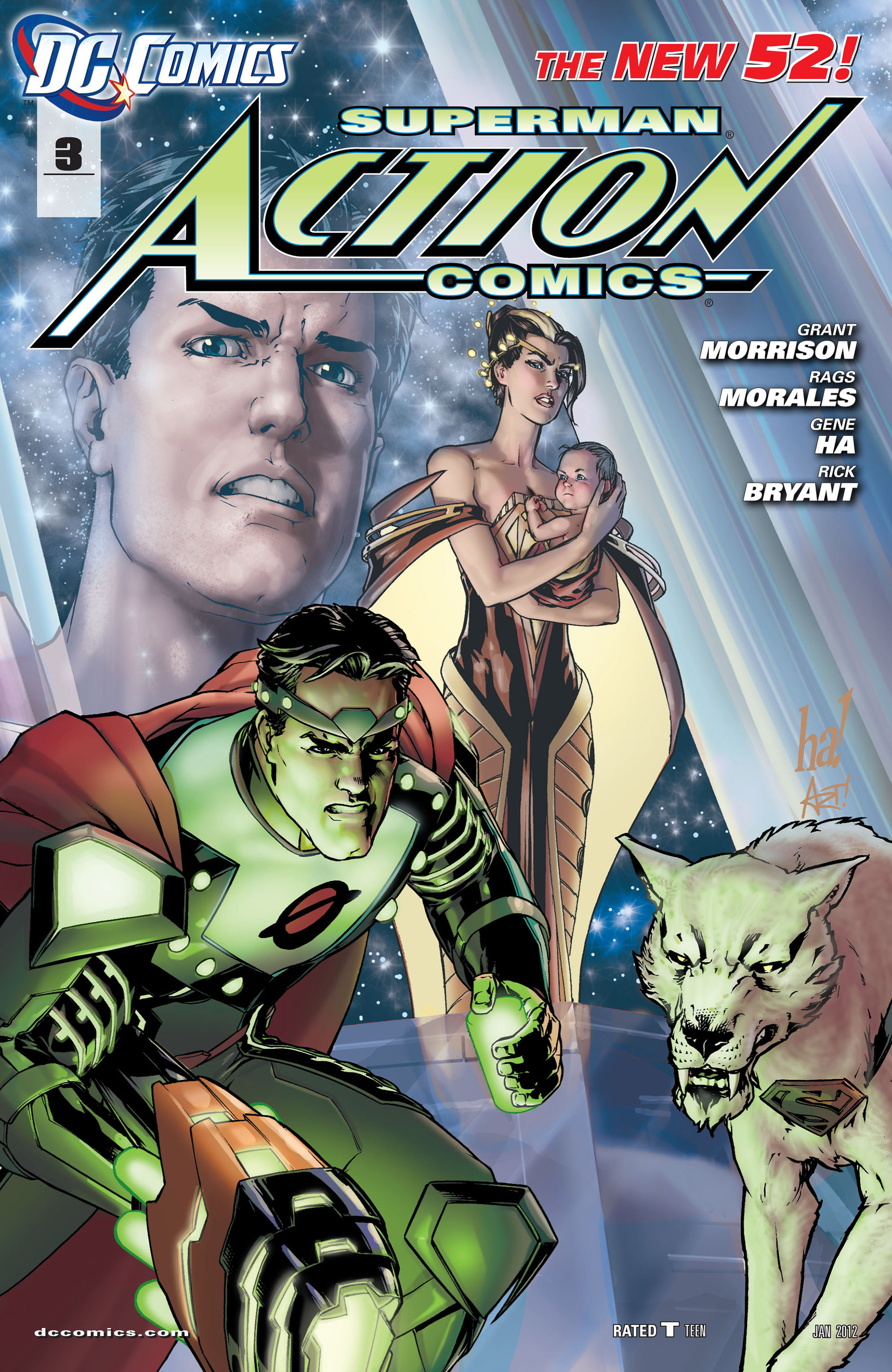Read online Action Comics (2011) comic -  Issue #3 - 2