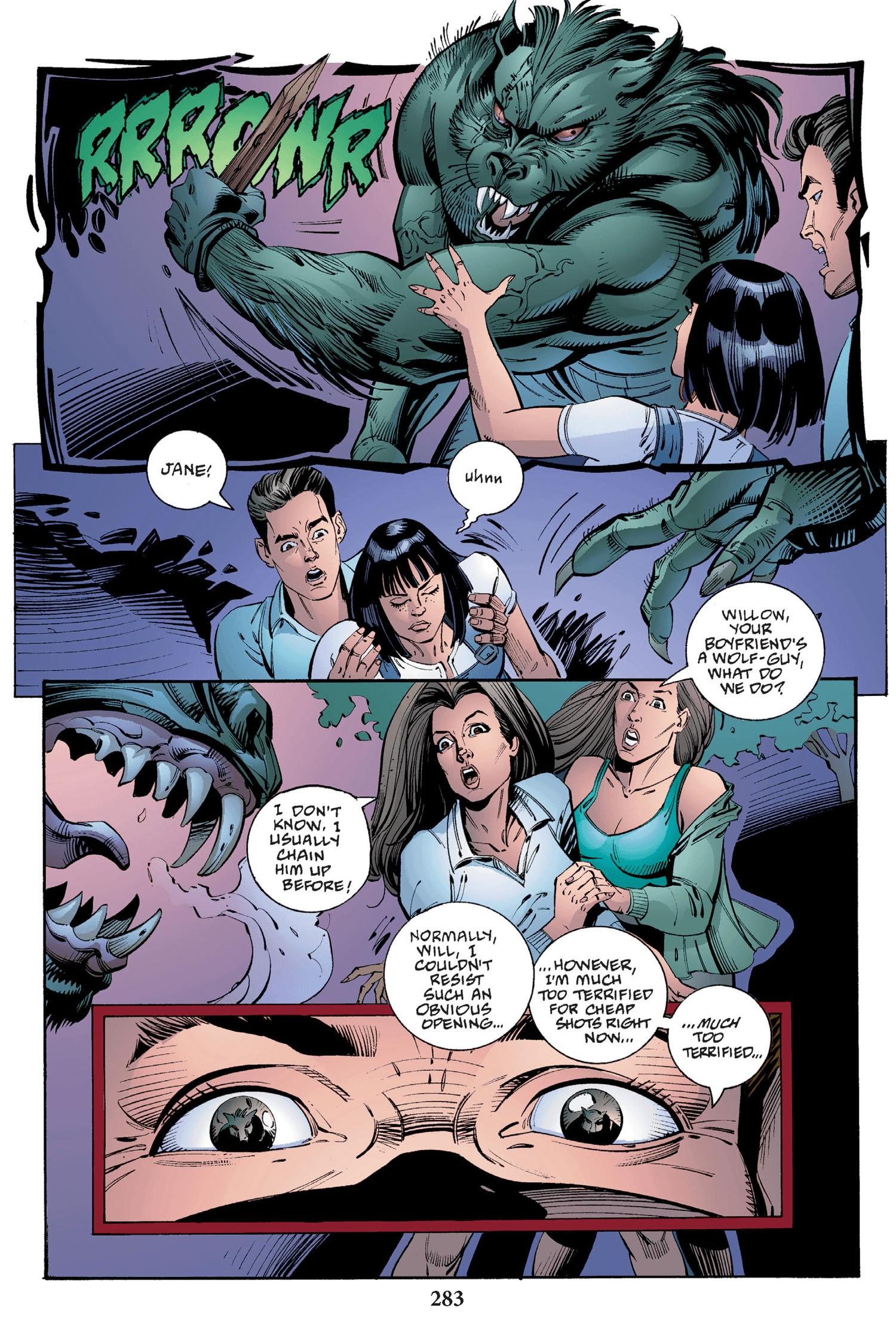 Read online Buffy the Vampire Slayer: Omnibus comic -  Issue # TPB 2 - 275