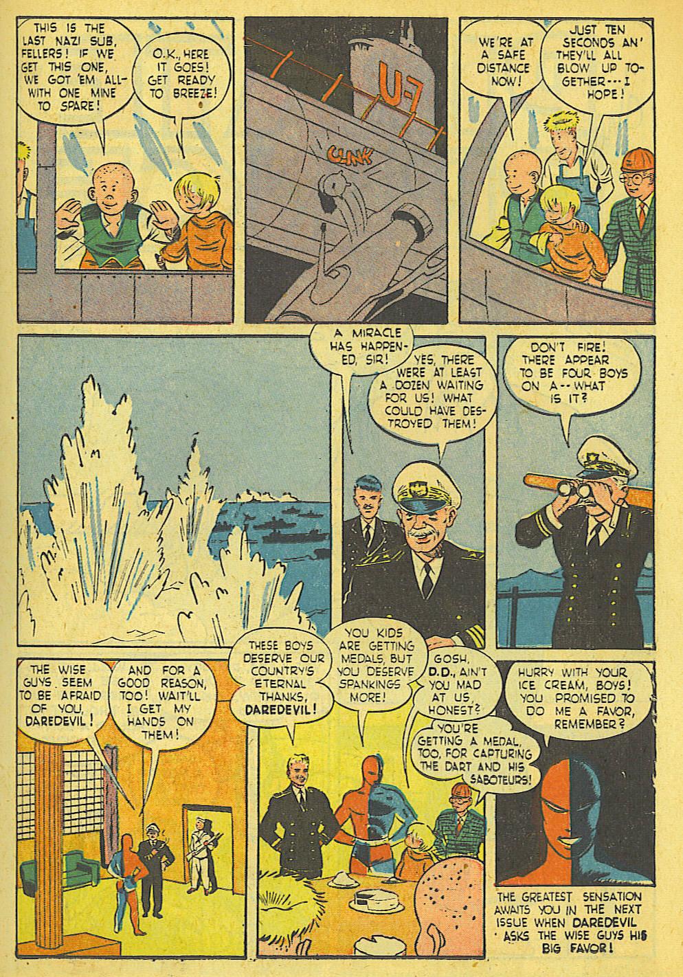 Daredevil (1941) issue 21 - Page 17