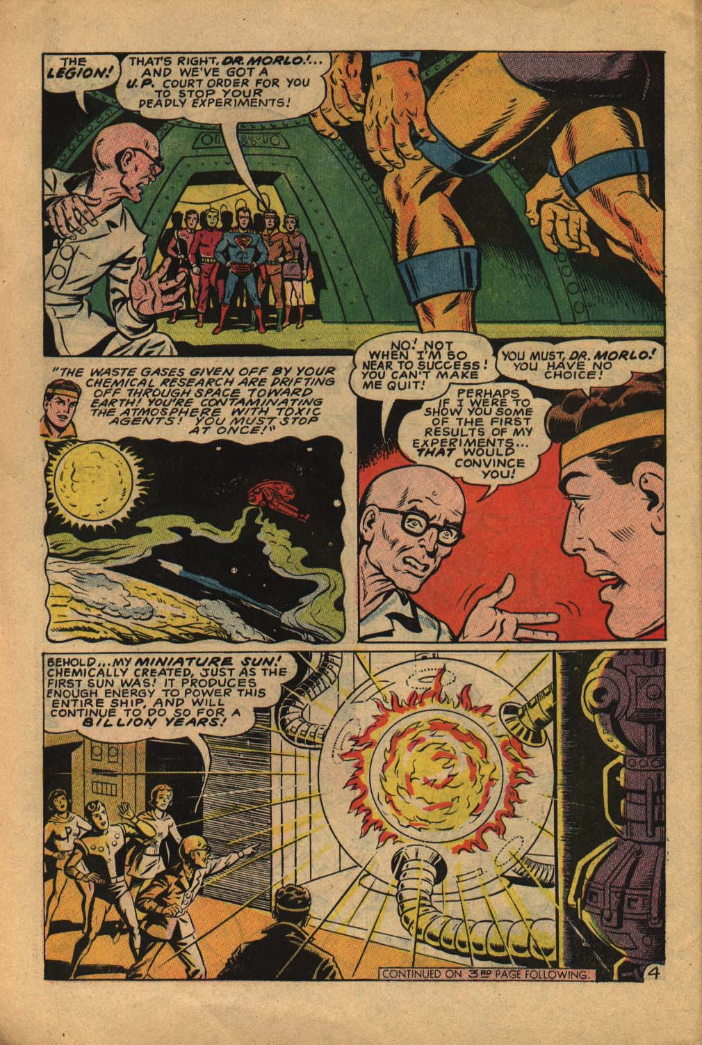 Read online Adventure Comics (1938) comic -  Issue #362 - 6