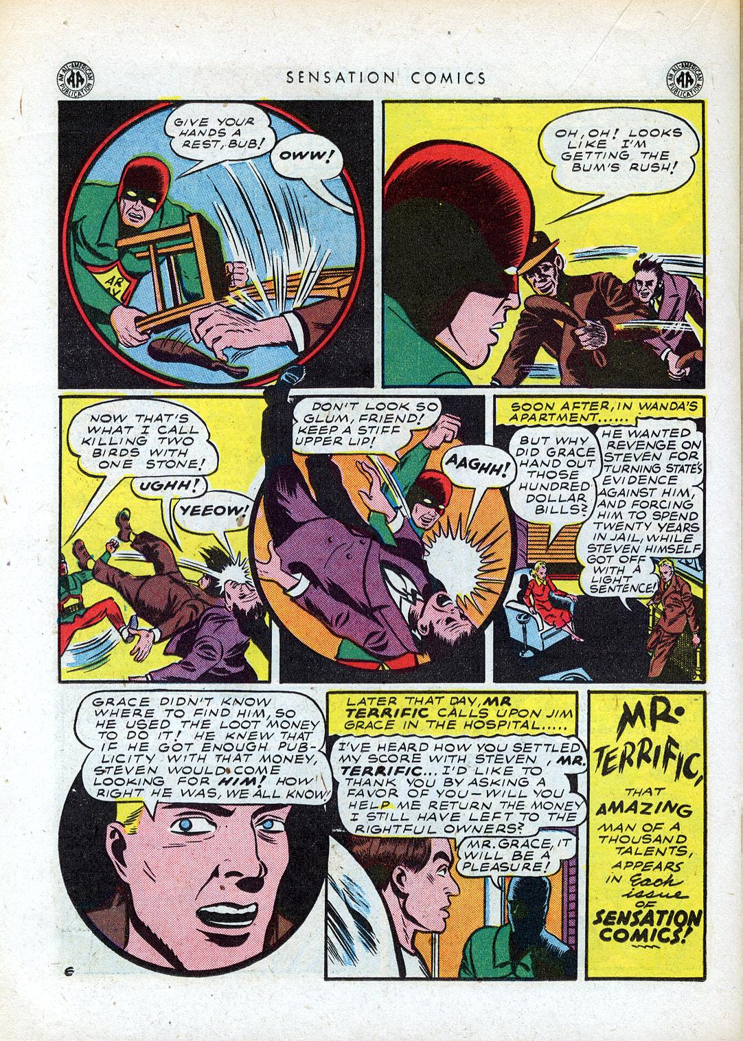 Read online Sensation (Mystery) Comics comic -  Issue #41 - 30