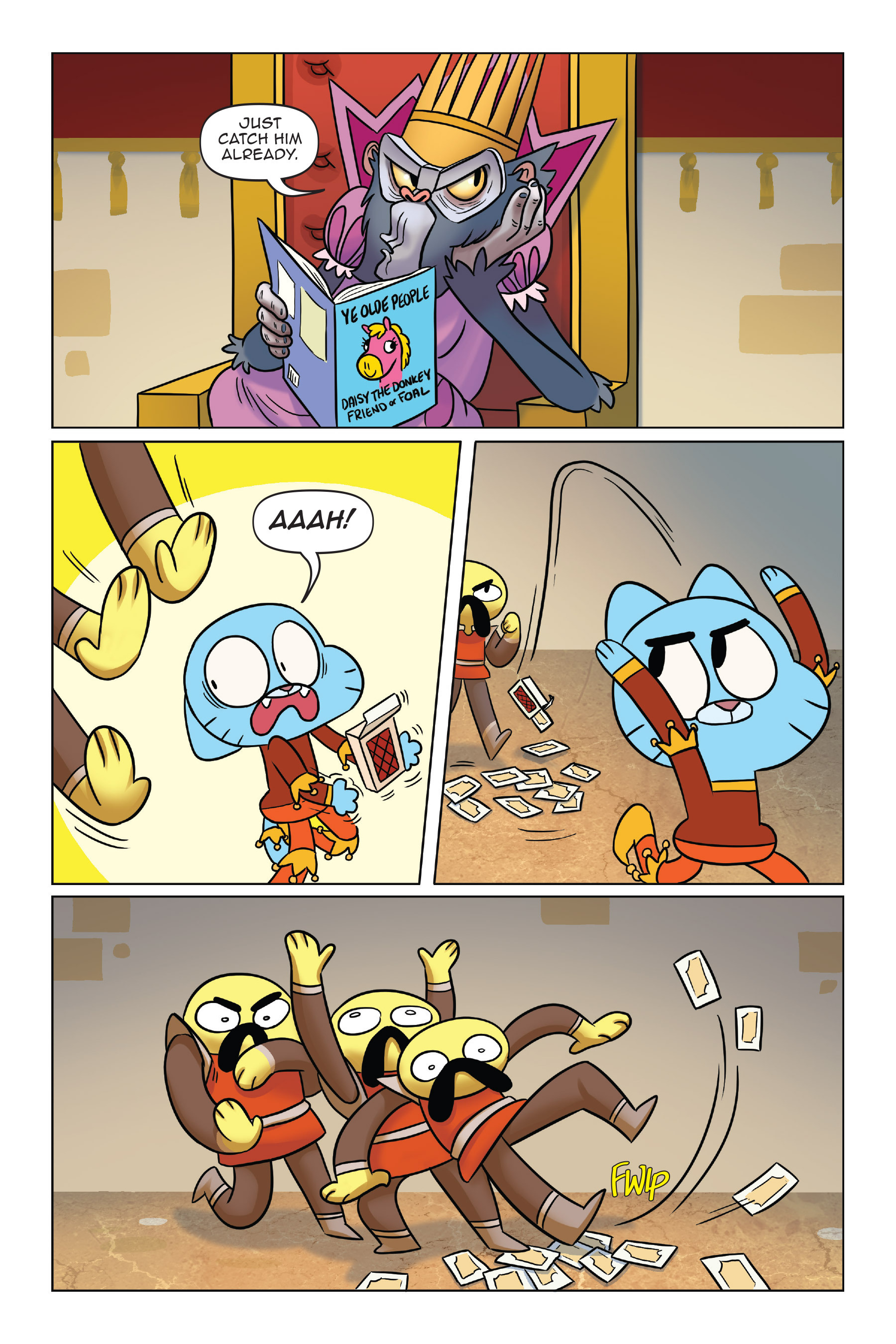 Read online The Amazing World of Gumball: Fairy Tale Trouble comic -  Issue # Full - 124