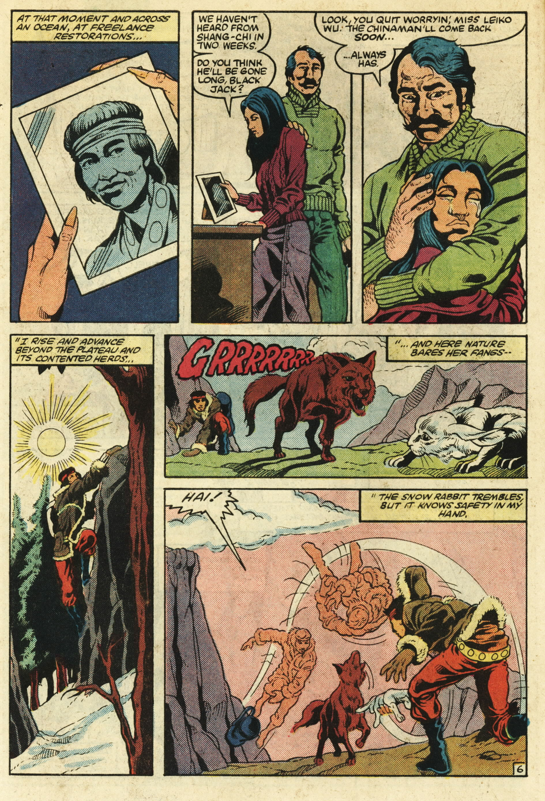 Read online Master of Kung Fu (1974) comic -  Issue #124 - 7