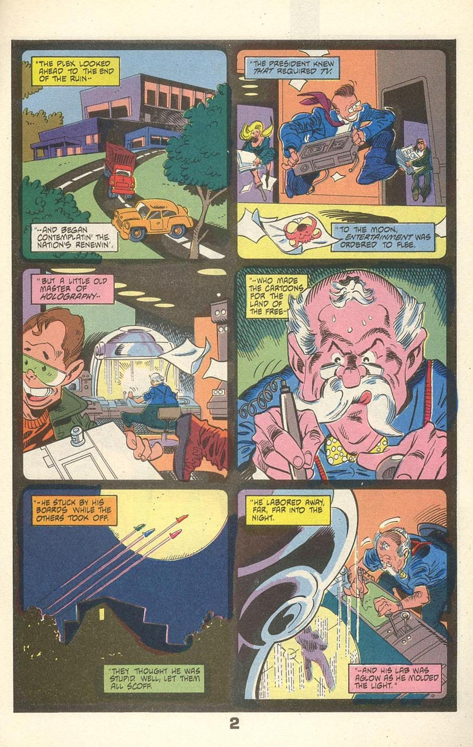 Read online American Flagg! comic -  Issue #31 - 27