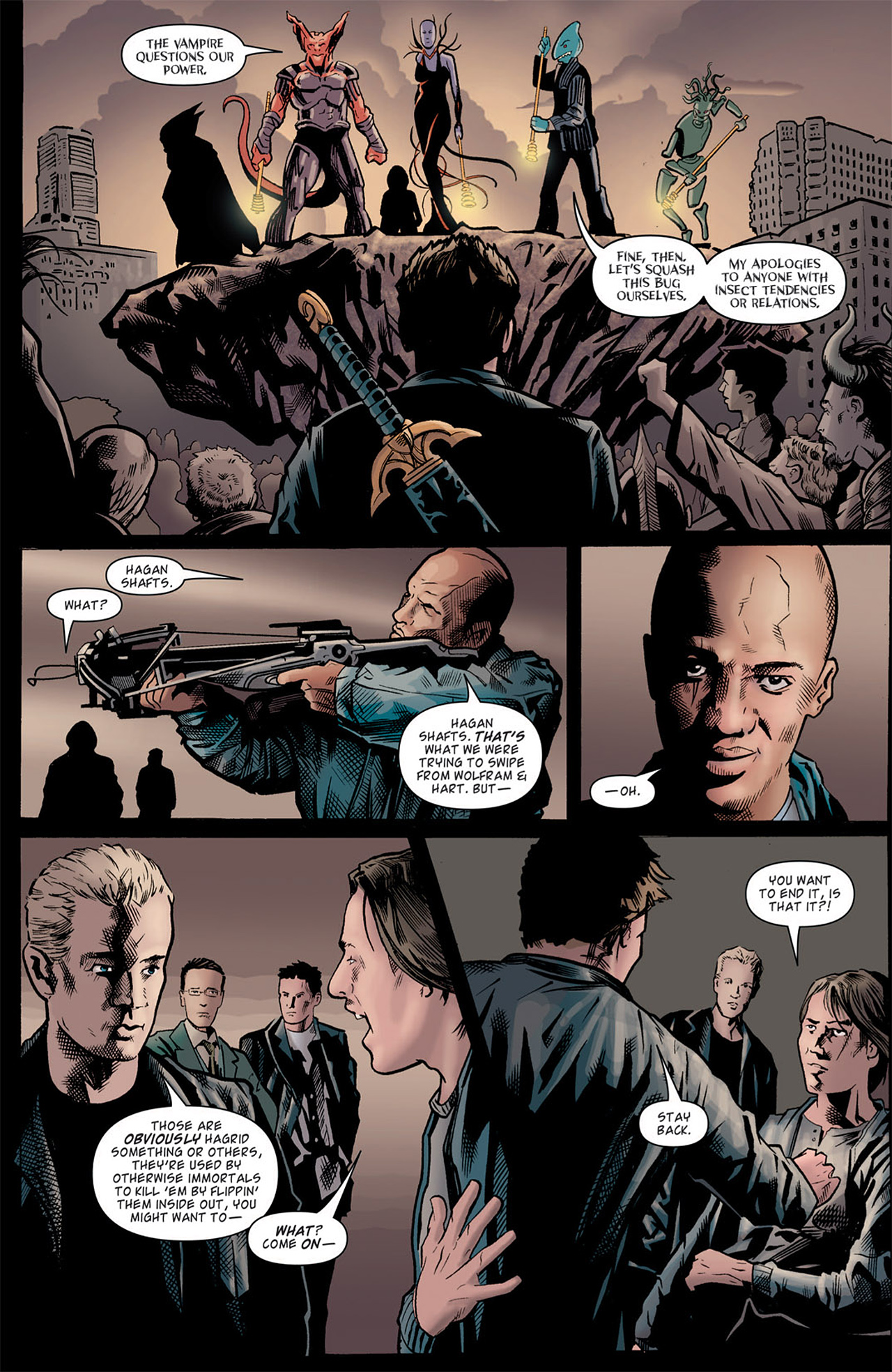 Read online Angel: After The Fall comic -  Issue #9 - 10