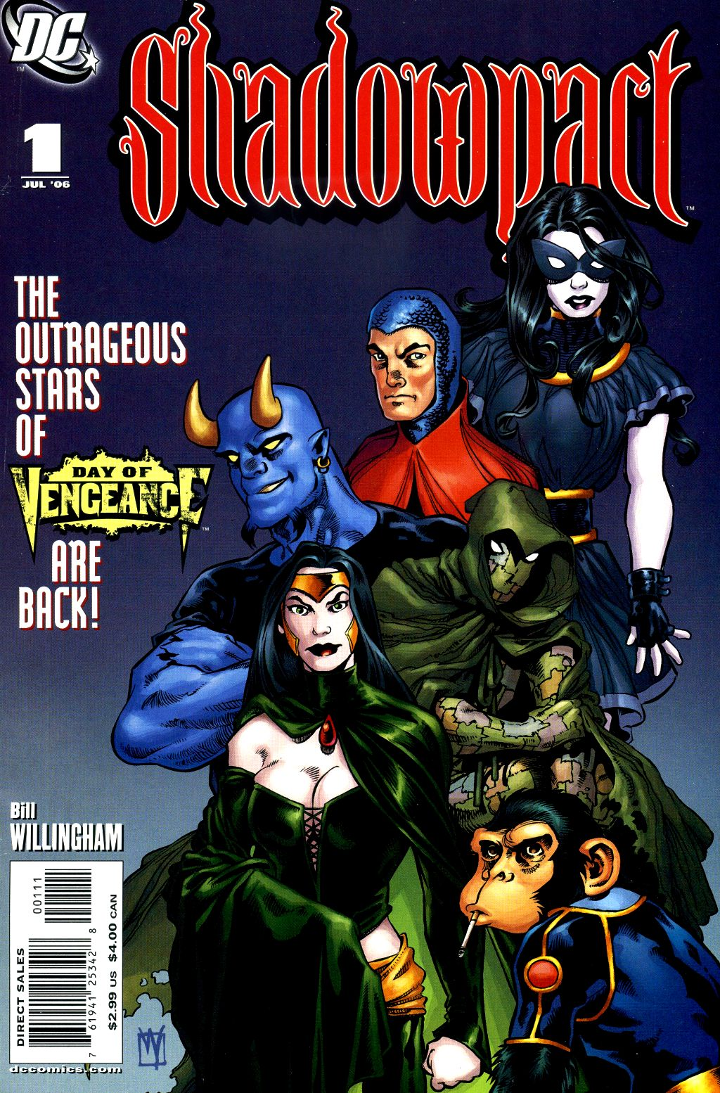 Read online Shadowpact comic -  Issue #1 - 1