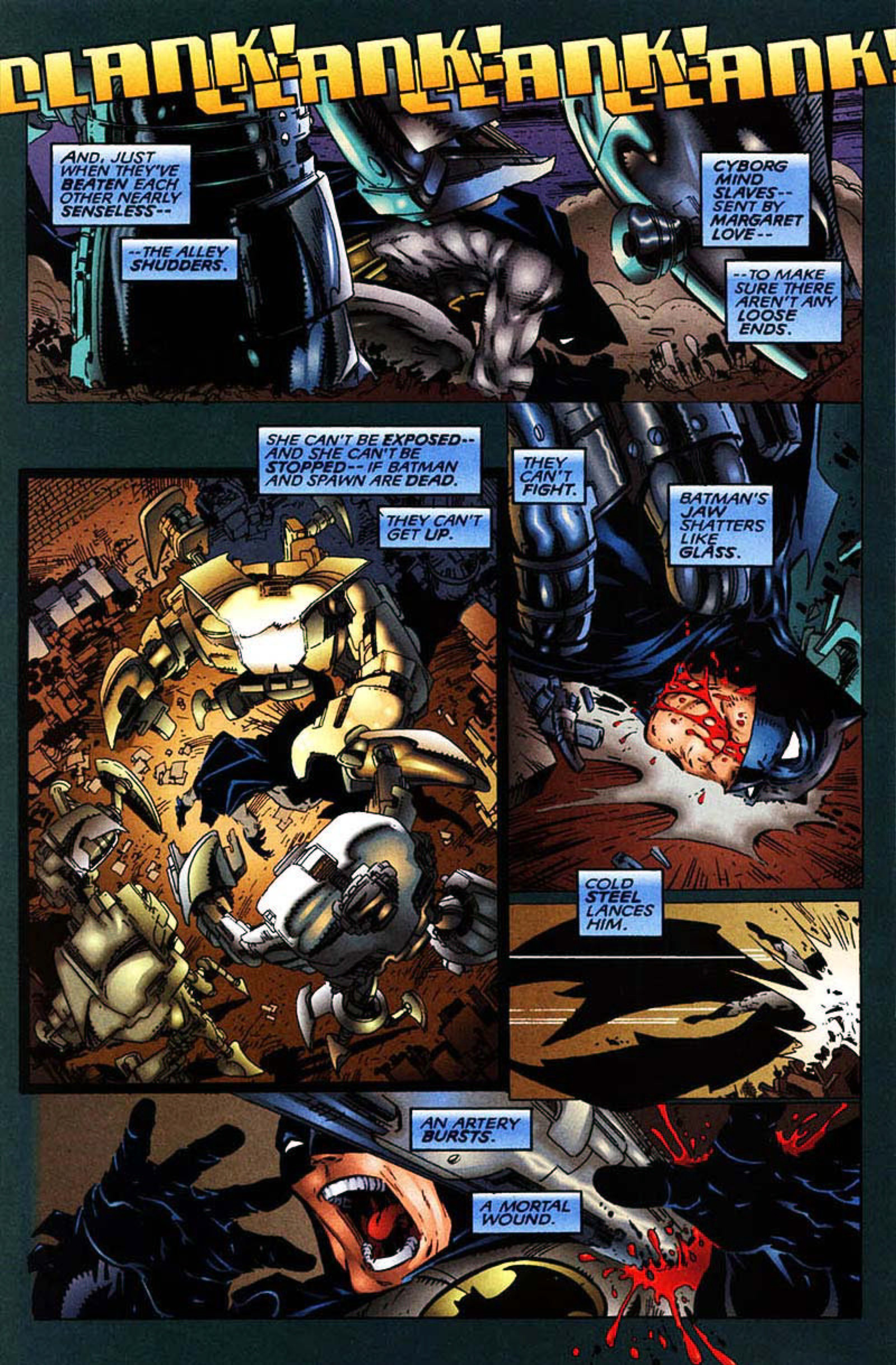 Read online Spawn-Batman comic -  Issue # Full - 38