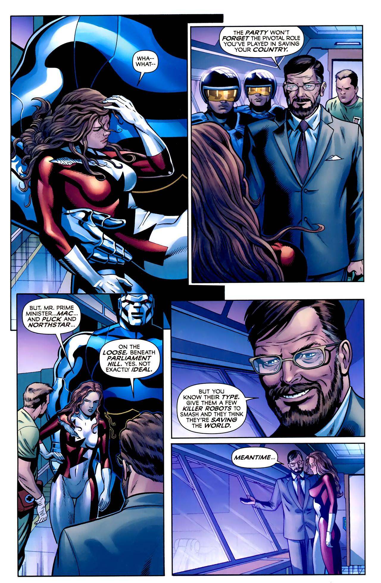 Read online Alpha Flight (2011) comic -  Issue #2 - 21