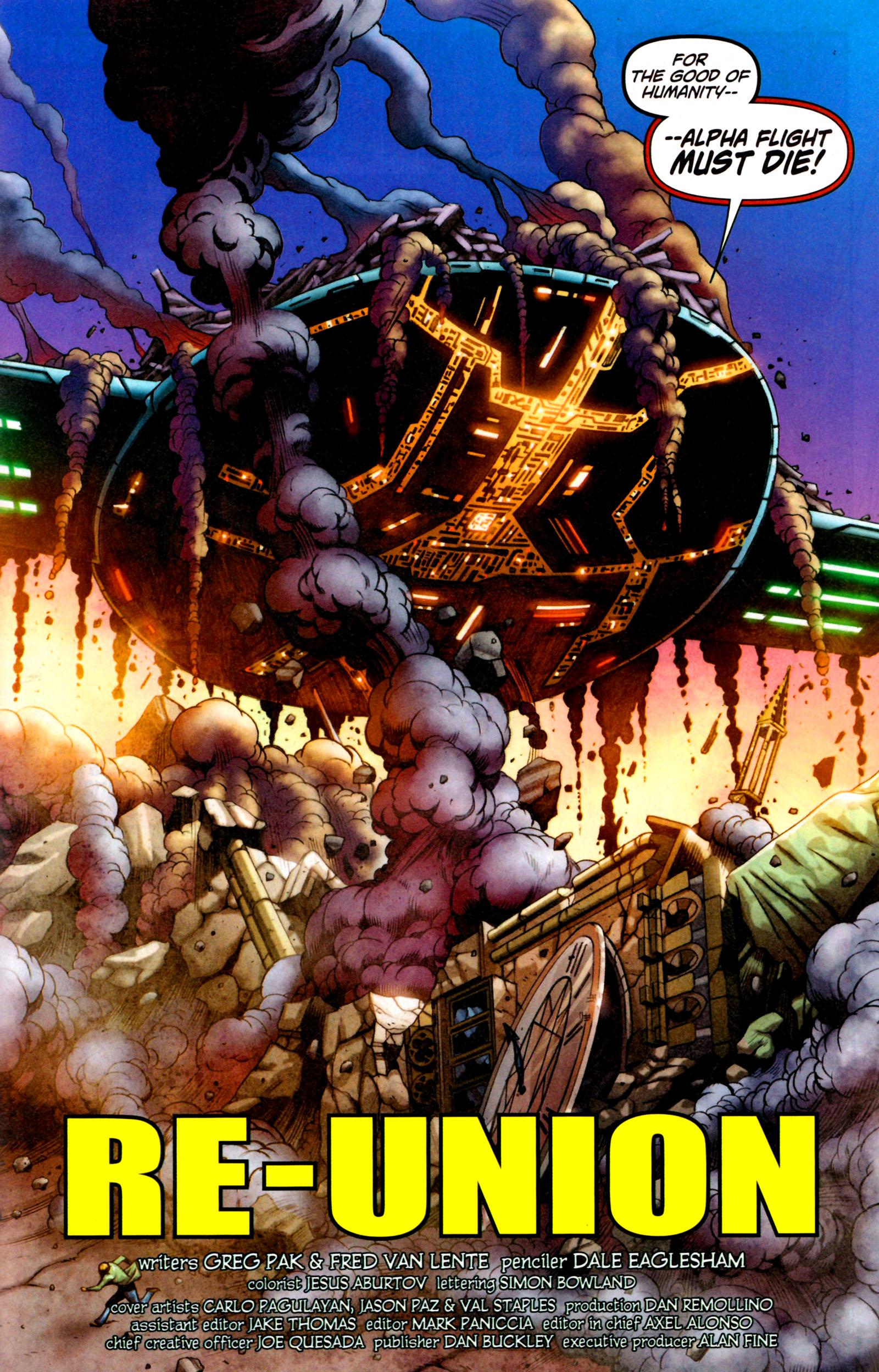 Read online Alpha Flight (2011) comic -  Issue #7 - 22