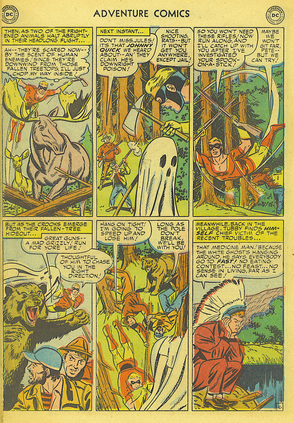 Read online Adventure Comics (1938) comic -  Issue #165 - 25