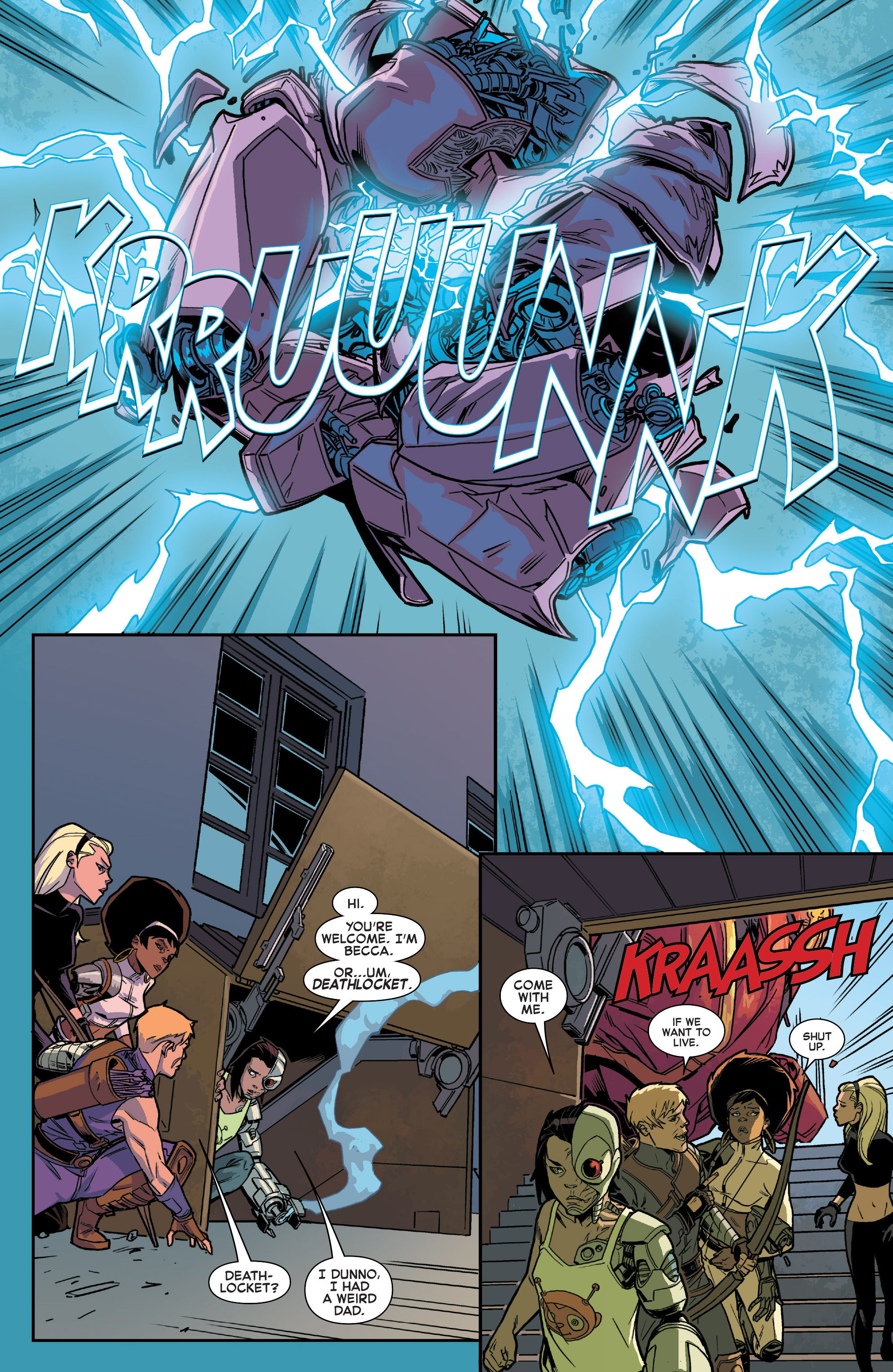 Read online House of M (2015) comic -  Issue #1 - 17