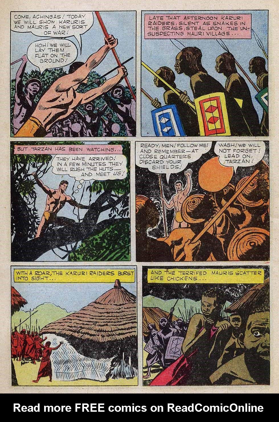 Tarzan (1948) issue 101 - Page 11