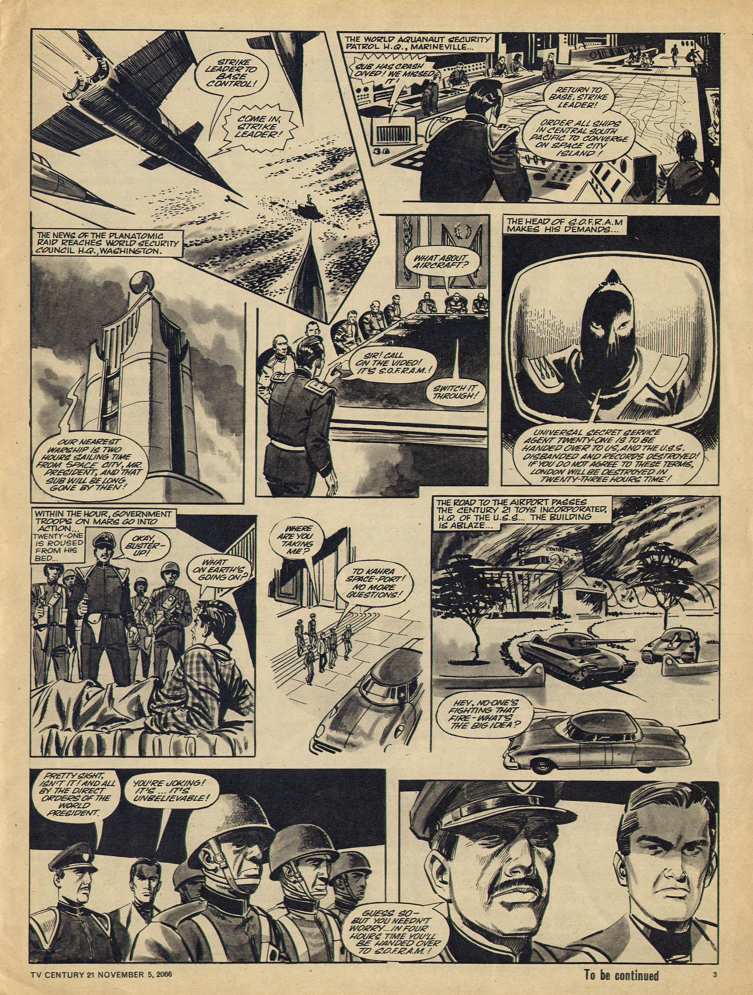 Read online TV Century 21 (TV 21) comic -  Issue #94 - 3