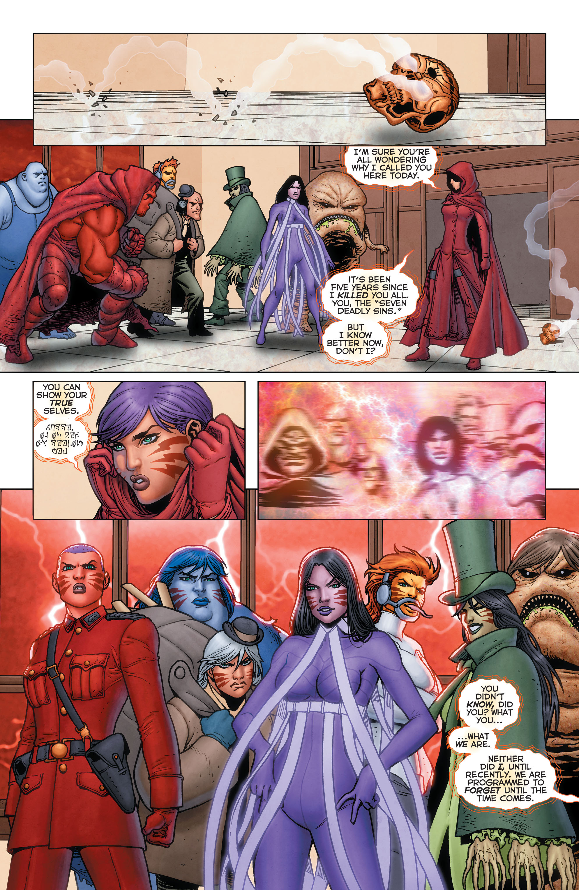 Read online Trinity of Sin: Pandora: Futures End comic -  Issue # Full - 7