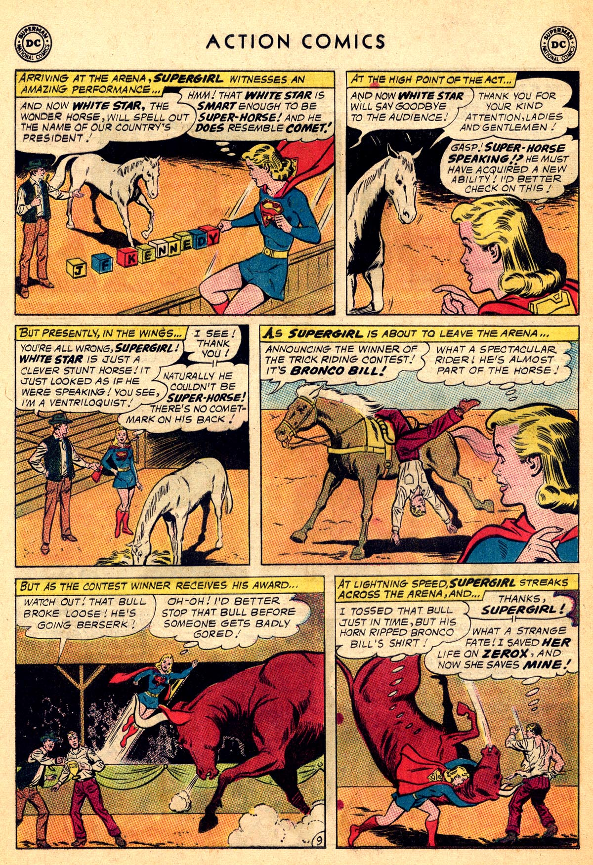 Read online Action Comics (1938) comic -  Issue #301 - 28