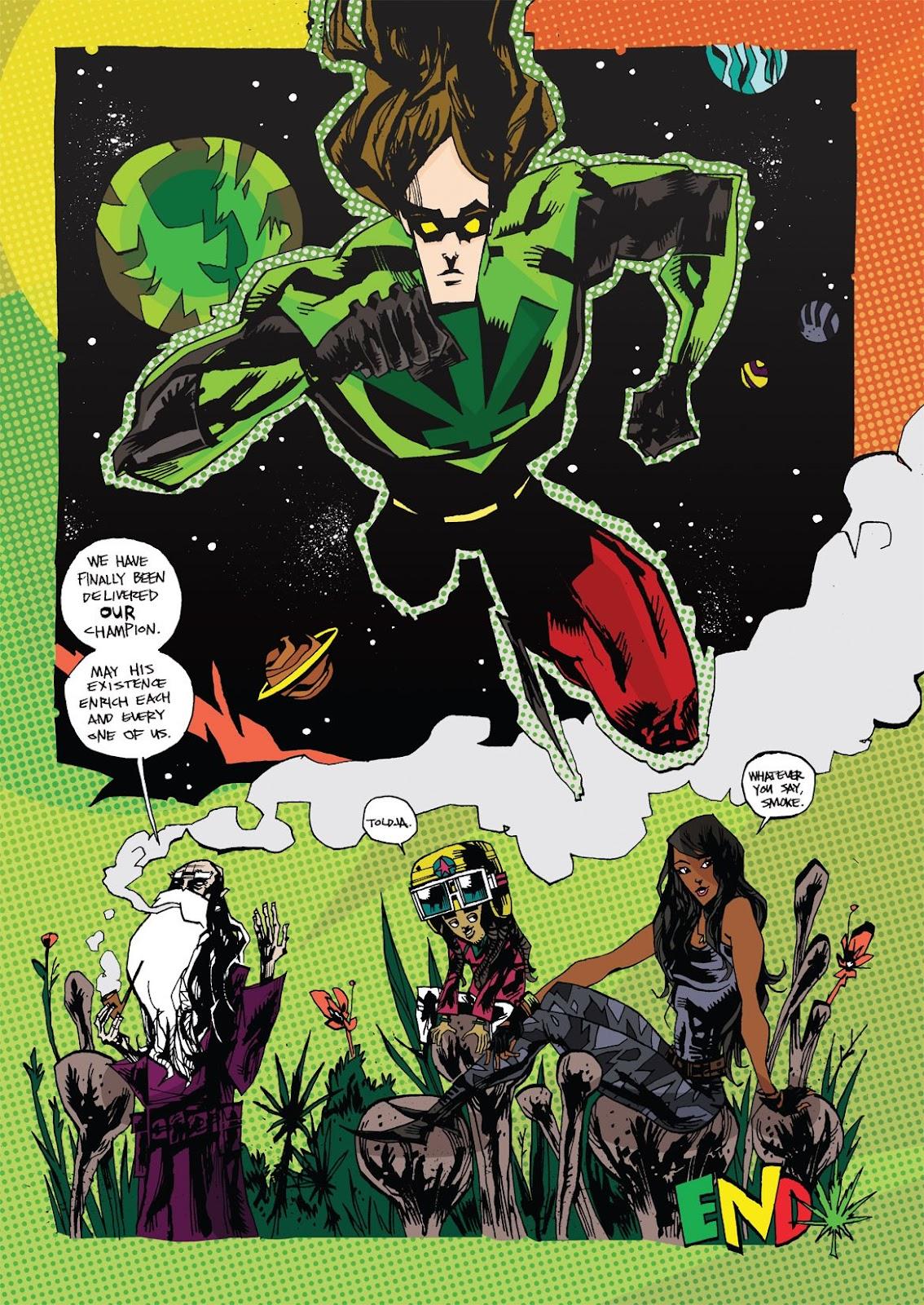 Read online Marijuanaman comic -  Issue # Full - 49