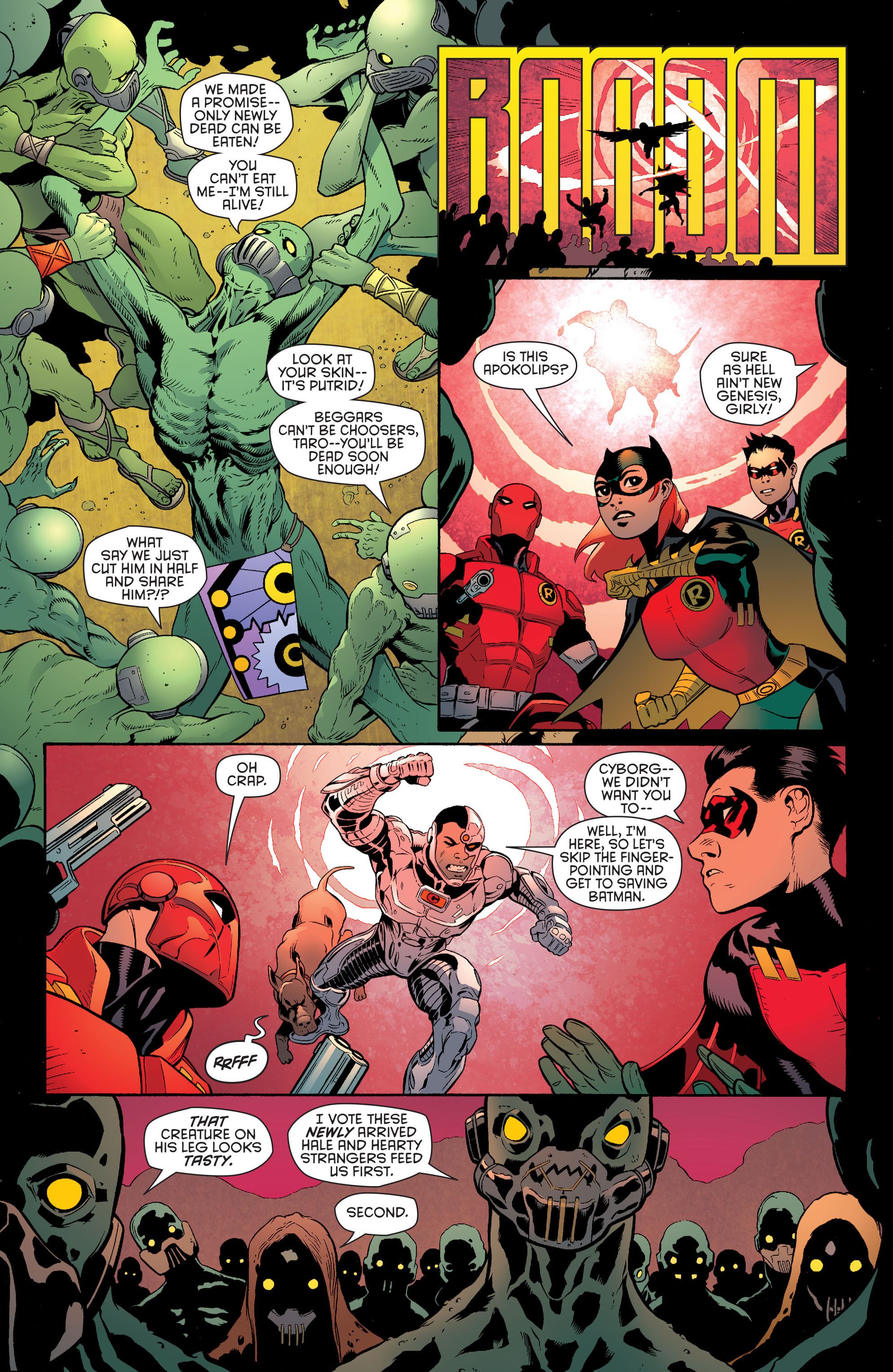 Read online Batman and Robin (2011) comic -  Issue #35 - 19