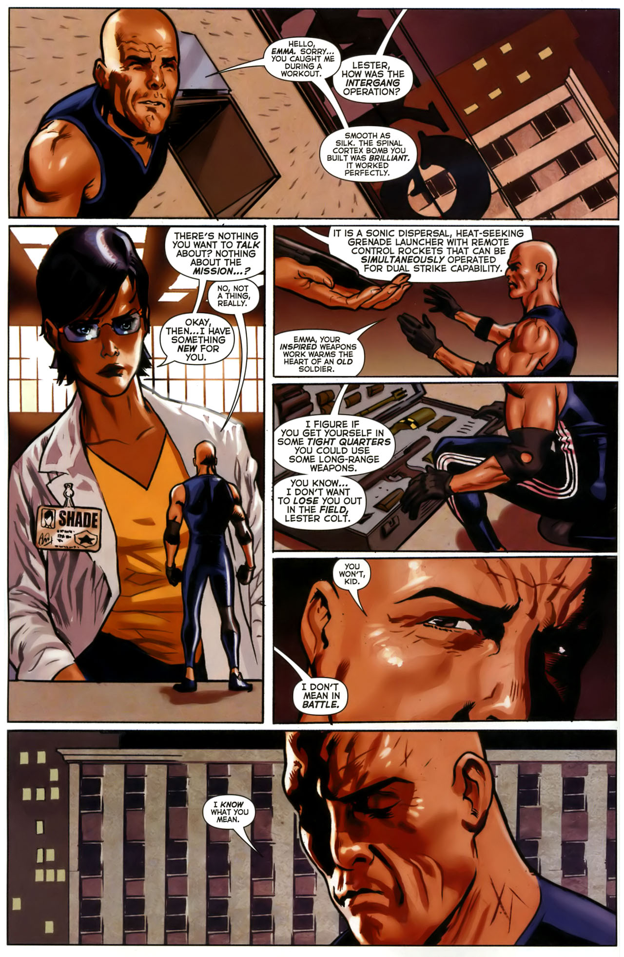 Read online Uncle Sam and the Freedom Fighters (2006) comic -  Issue #1 - 12