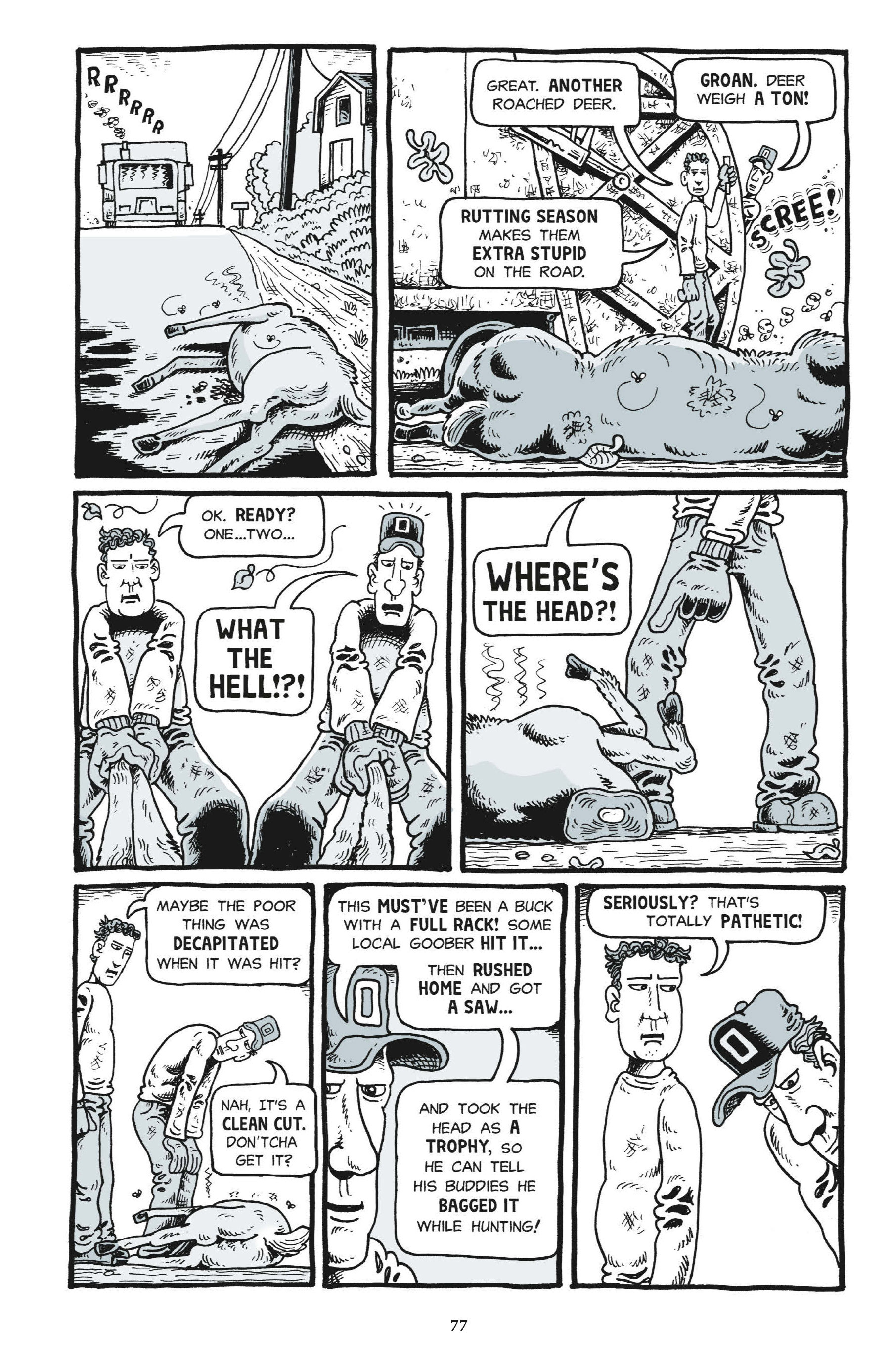 Read online Trashed comic -  Issue # Full - 76
