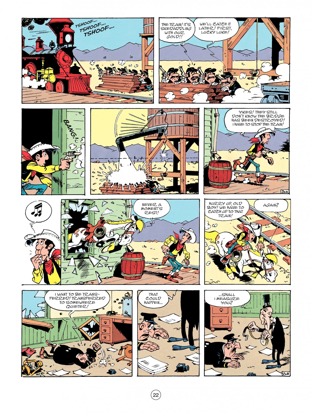 Read online A Lucky Luke Adventure comic -  Issue #53 - 22