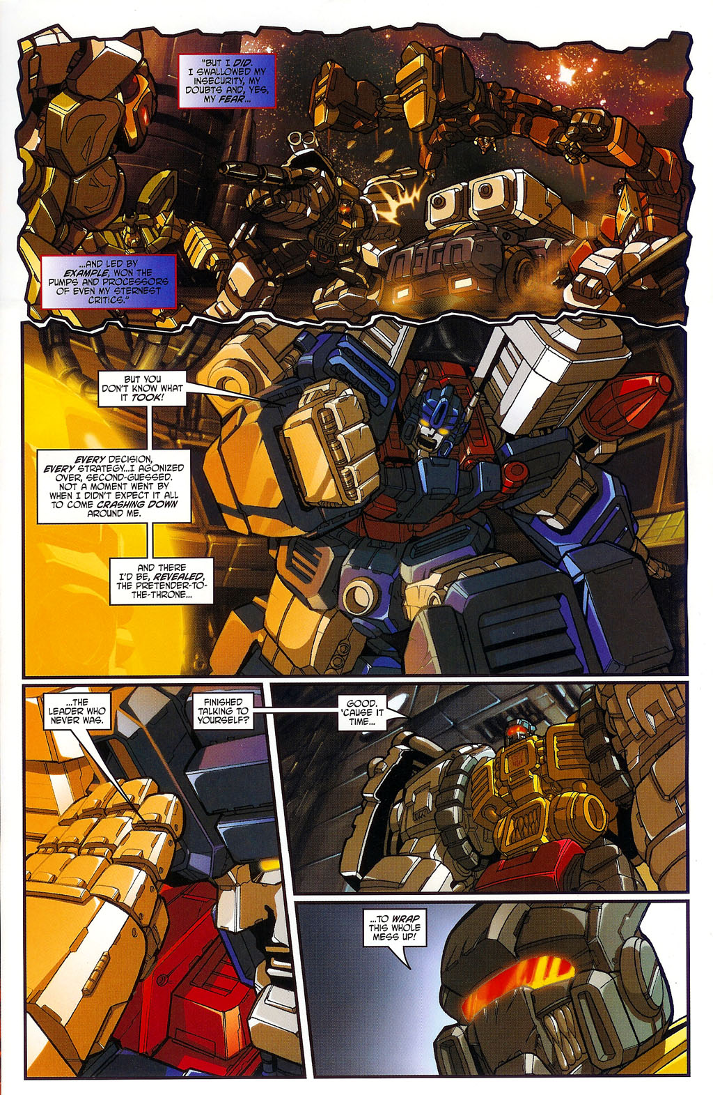 """Read online Transformers War Within: """"The Age of Wrath"""" comic -  Issue #1 - 7"""