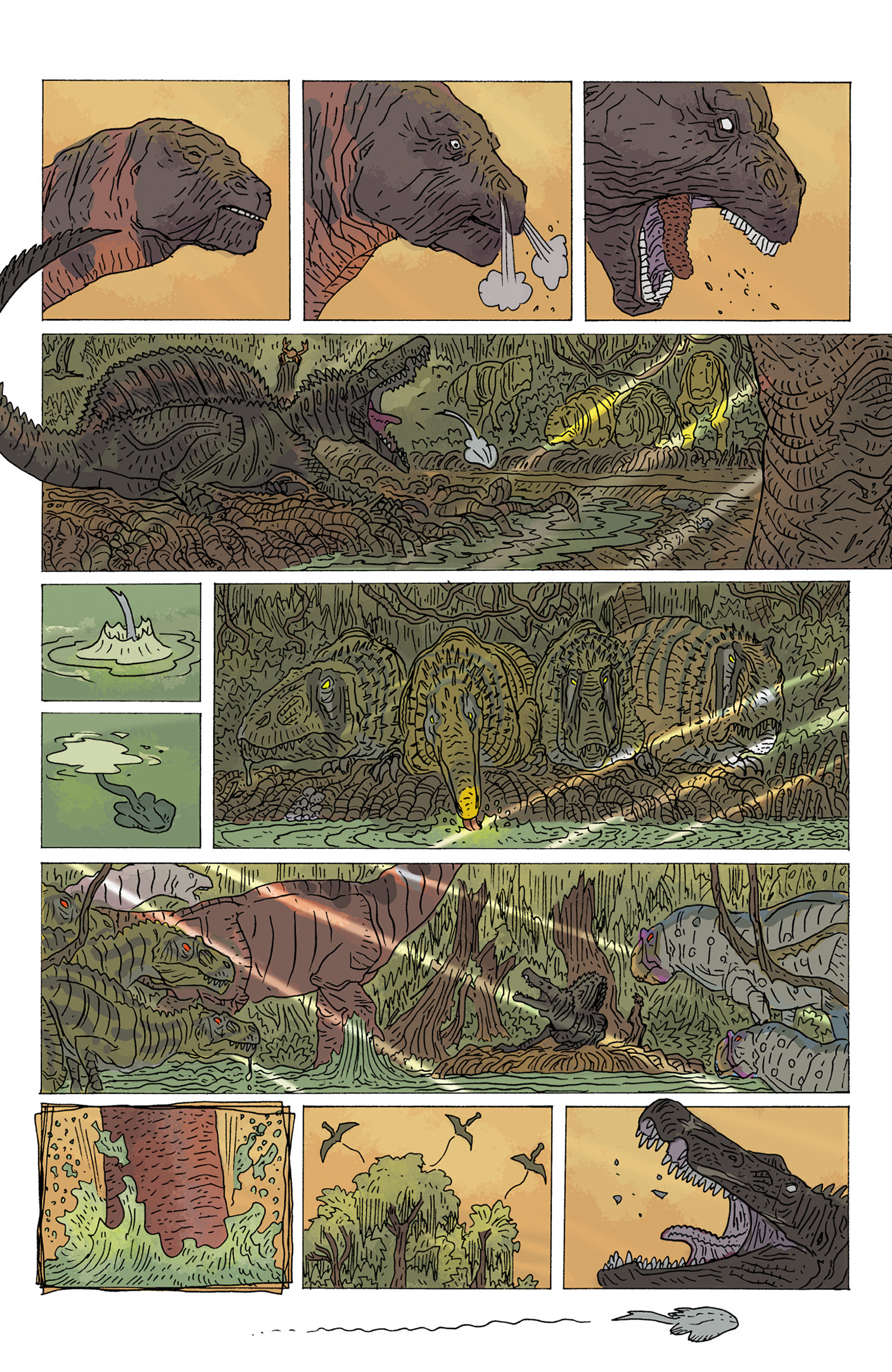 Read online Age of Reptiles: Ancient Egyptians comic -  Issue #4 - 5