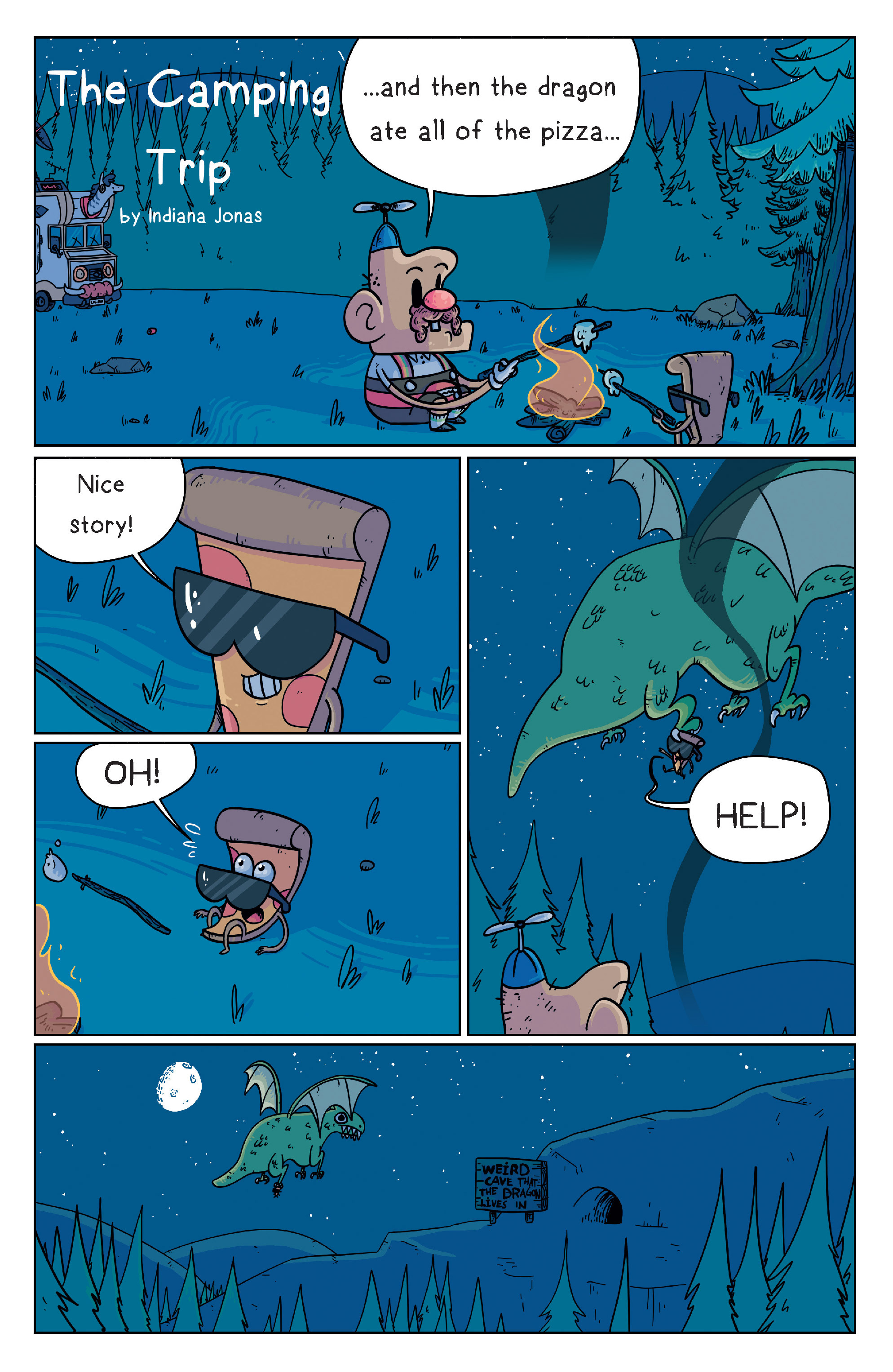 Read online Uncle Grandpa comic -  Issue #2 - 4