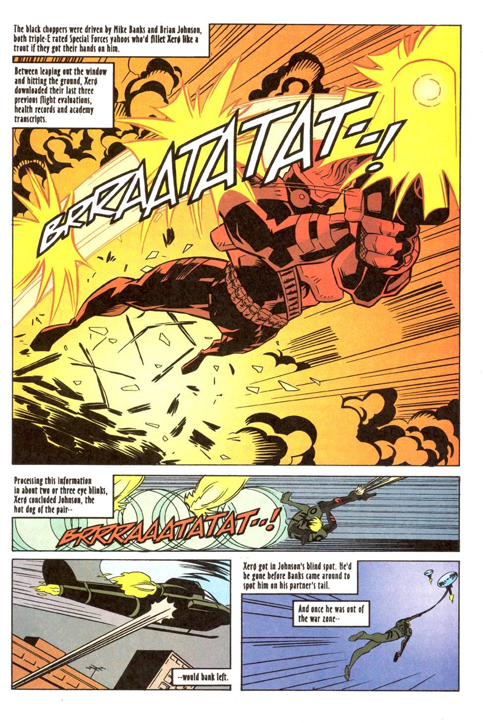 Read online Xero comic -  Issue #11 - 12